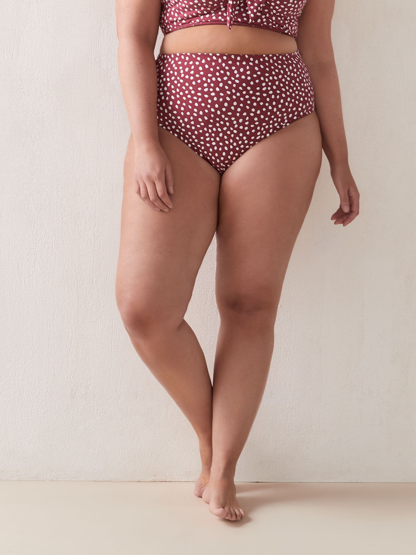 A'Pois High Waist Swim Brief - Artesands