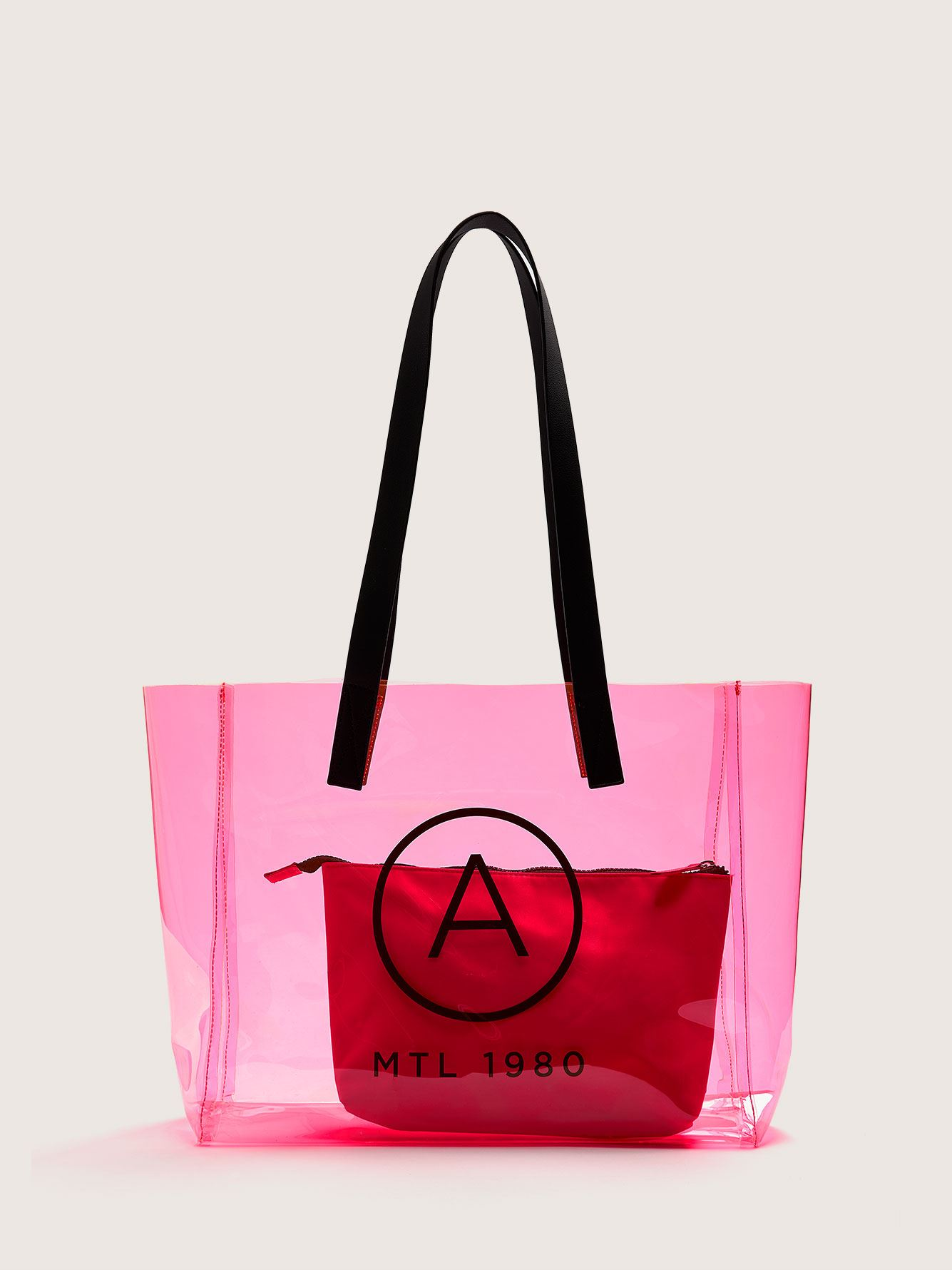 Translucent Neon Beach Bag - Addition Elle