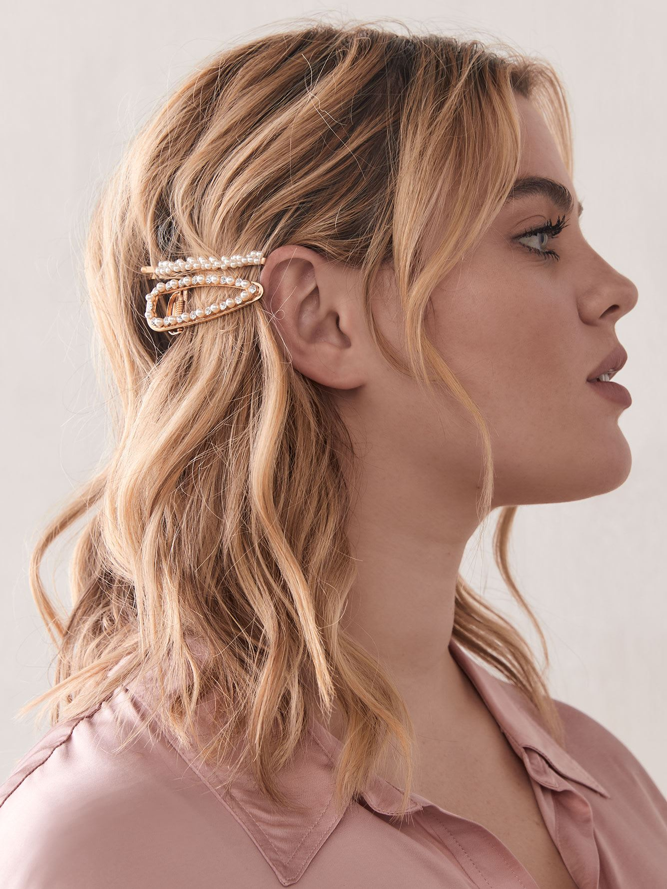 Hair Pins with Pearls, Pack of 2 - Addition Elle