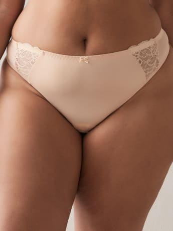Thong Panty with Lace - ti Voglio