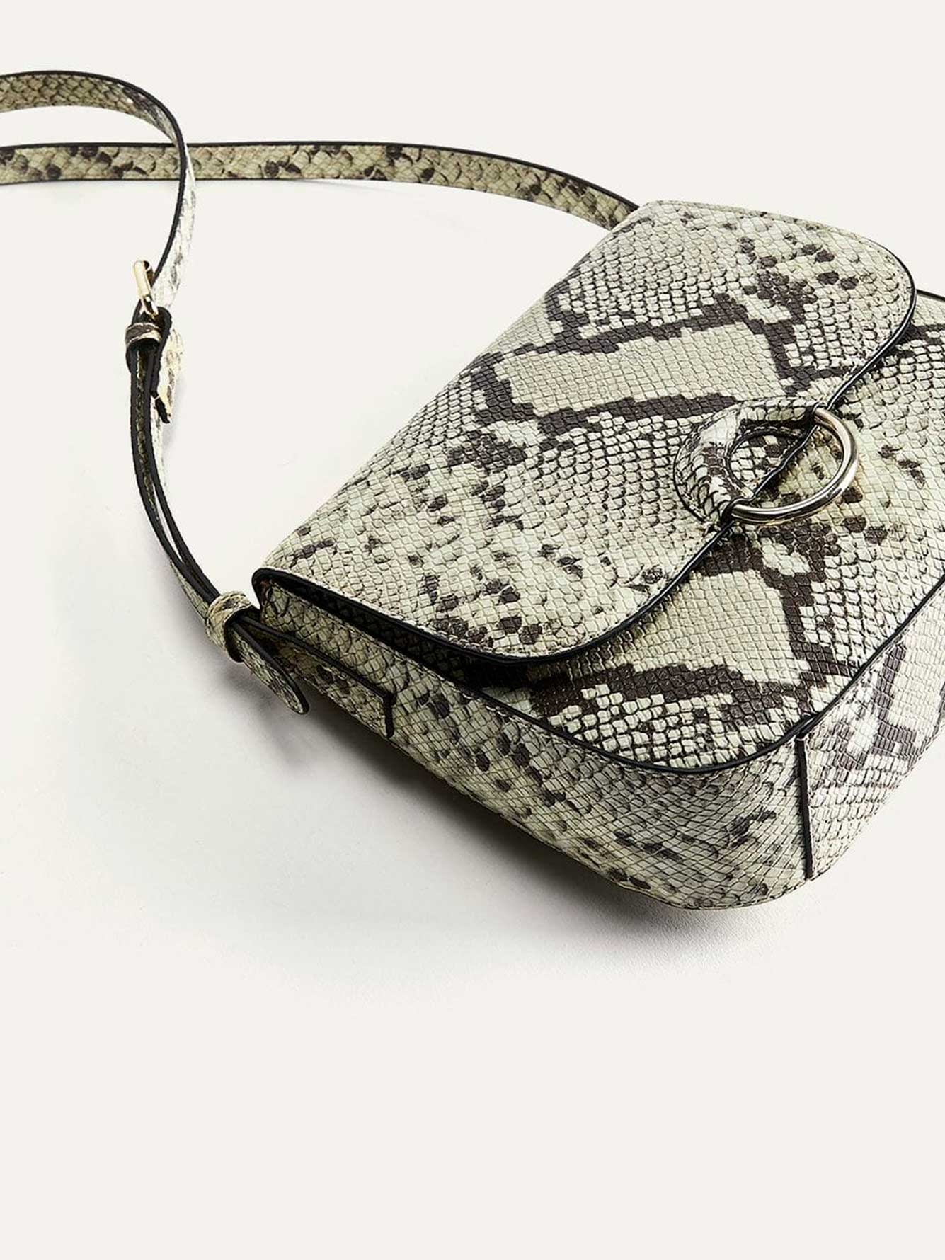 Printed Crossbody Handbag