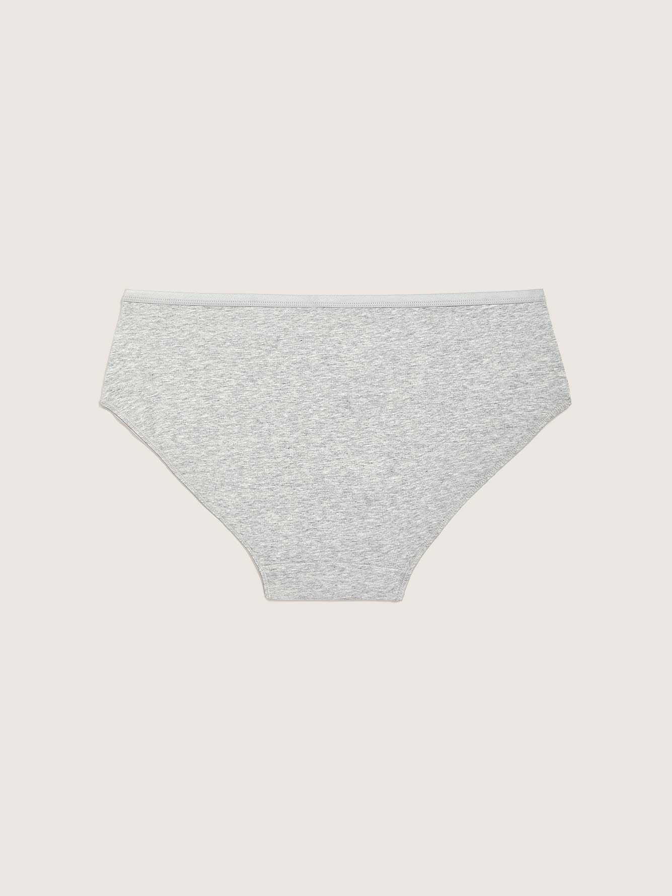 Heathered Cotton Hipster Panty - Addition Elle