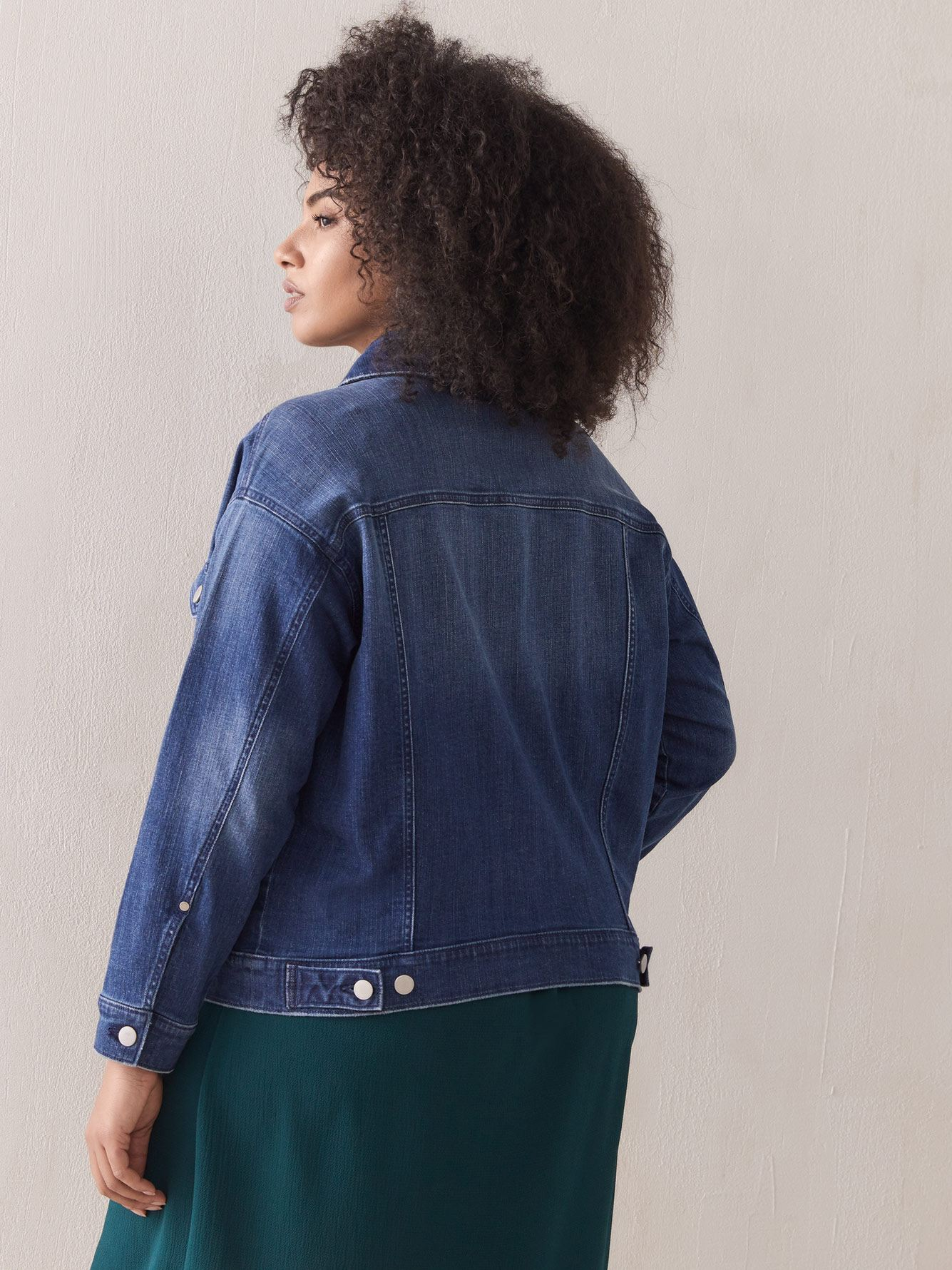 Boyfriend Jean Jacket - Addition Elle