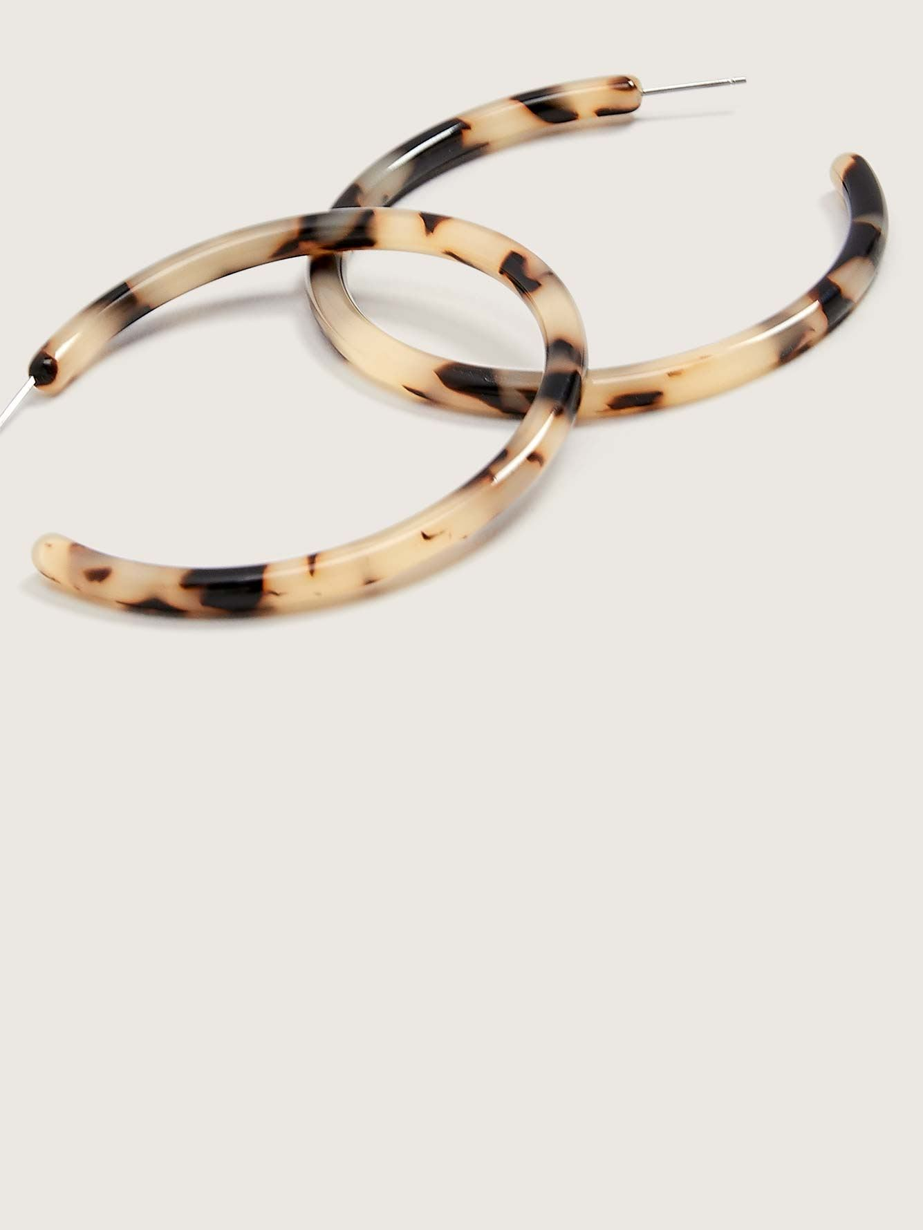 Large Hoops Earrings - Machete