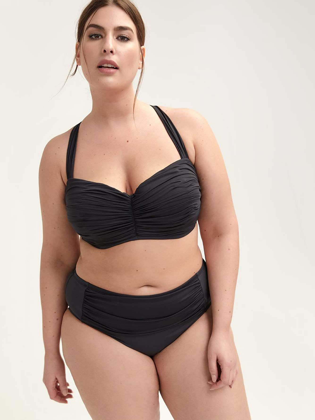 High Waisted Swim Bottom - Bleu Rod Beattie