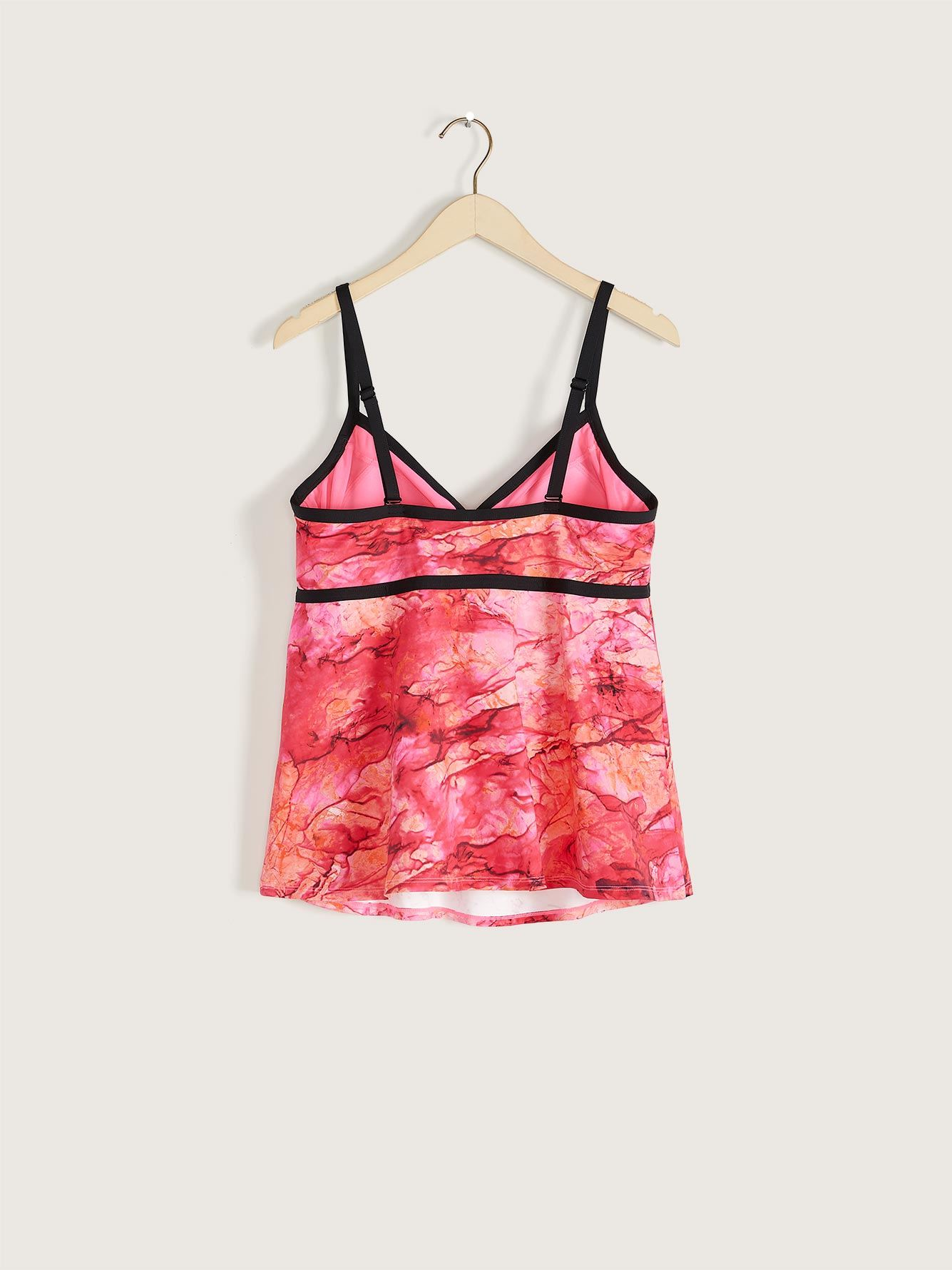 Printed Tankini Top - Addition Elle