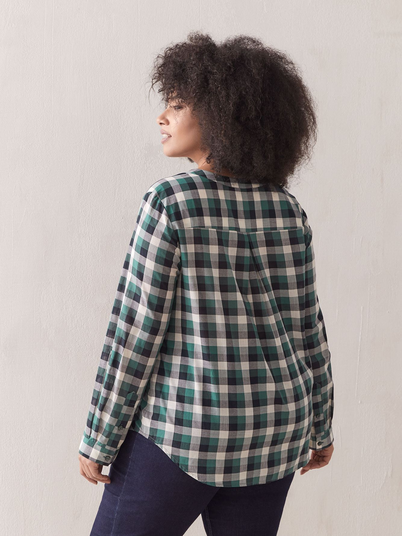 Cotton Plaid Shirt - In Every Story