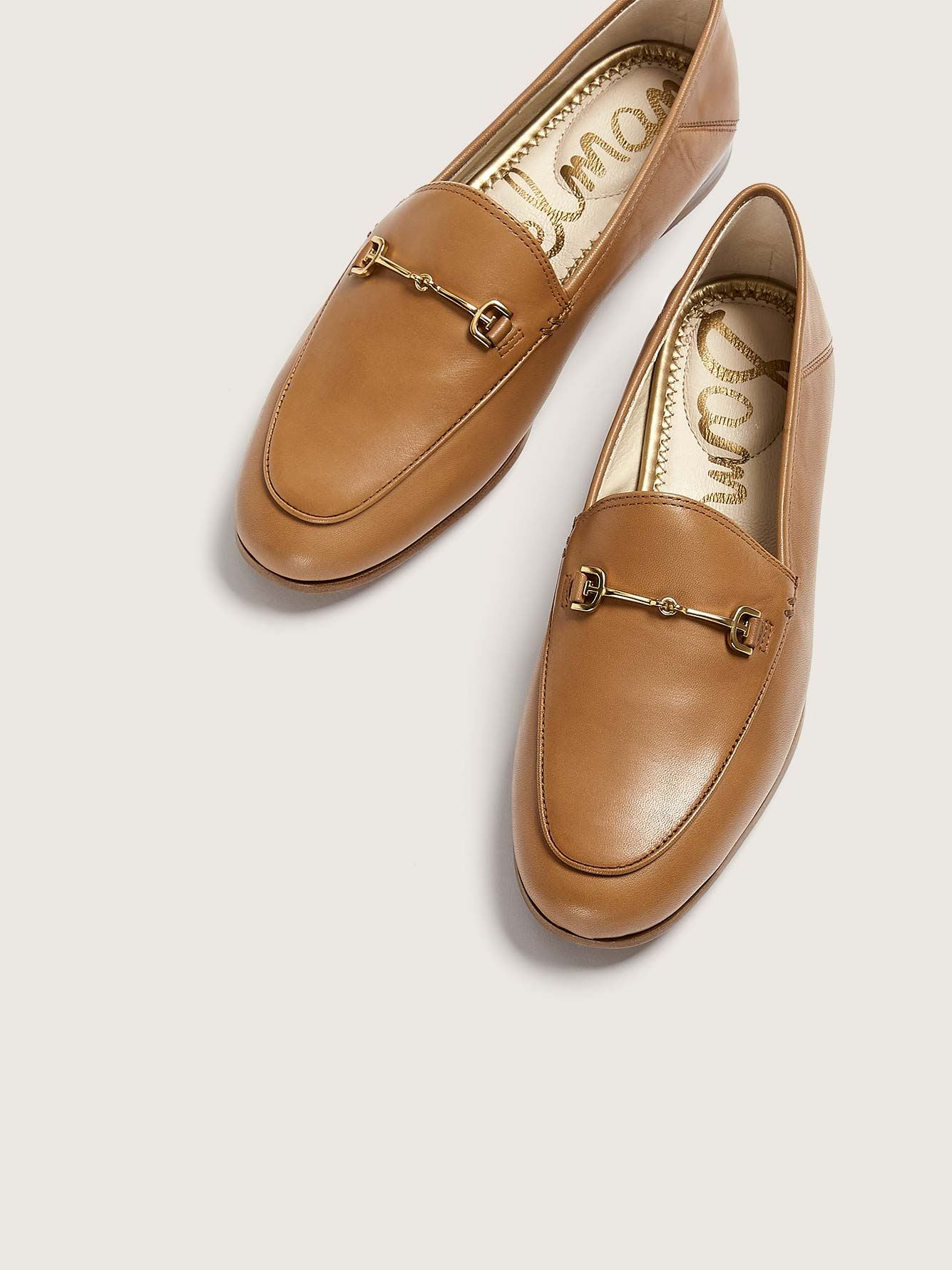 Wide Lorraine Leather Buckle Loafers - Sam Edelman