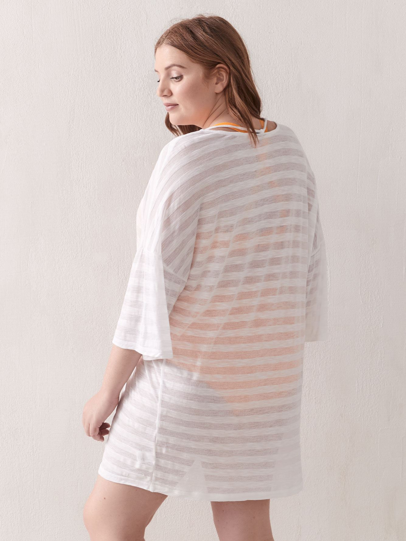 Striped Sunset Tunic - Cover Me