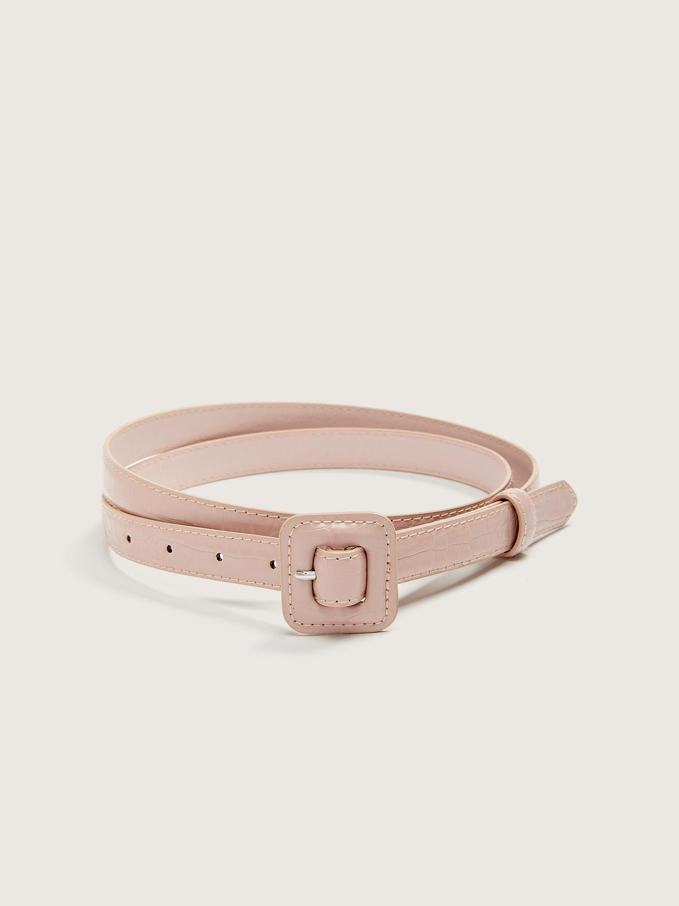 Skinny Croco Belt - Addition Elle