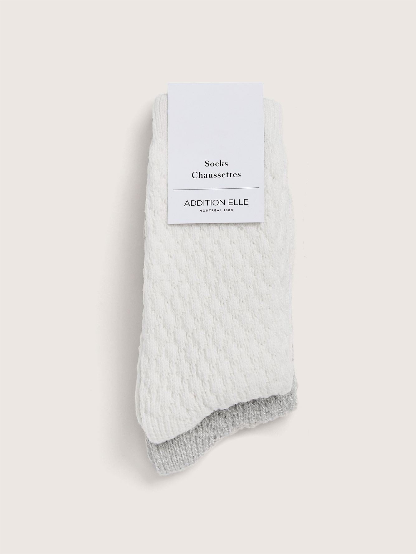 Roll Up Sleeping Socks, Pack of 2 - Addition Elle
