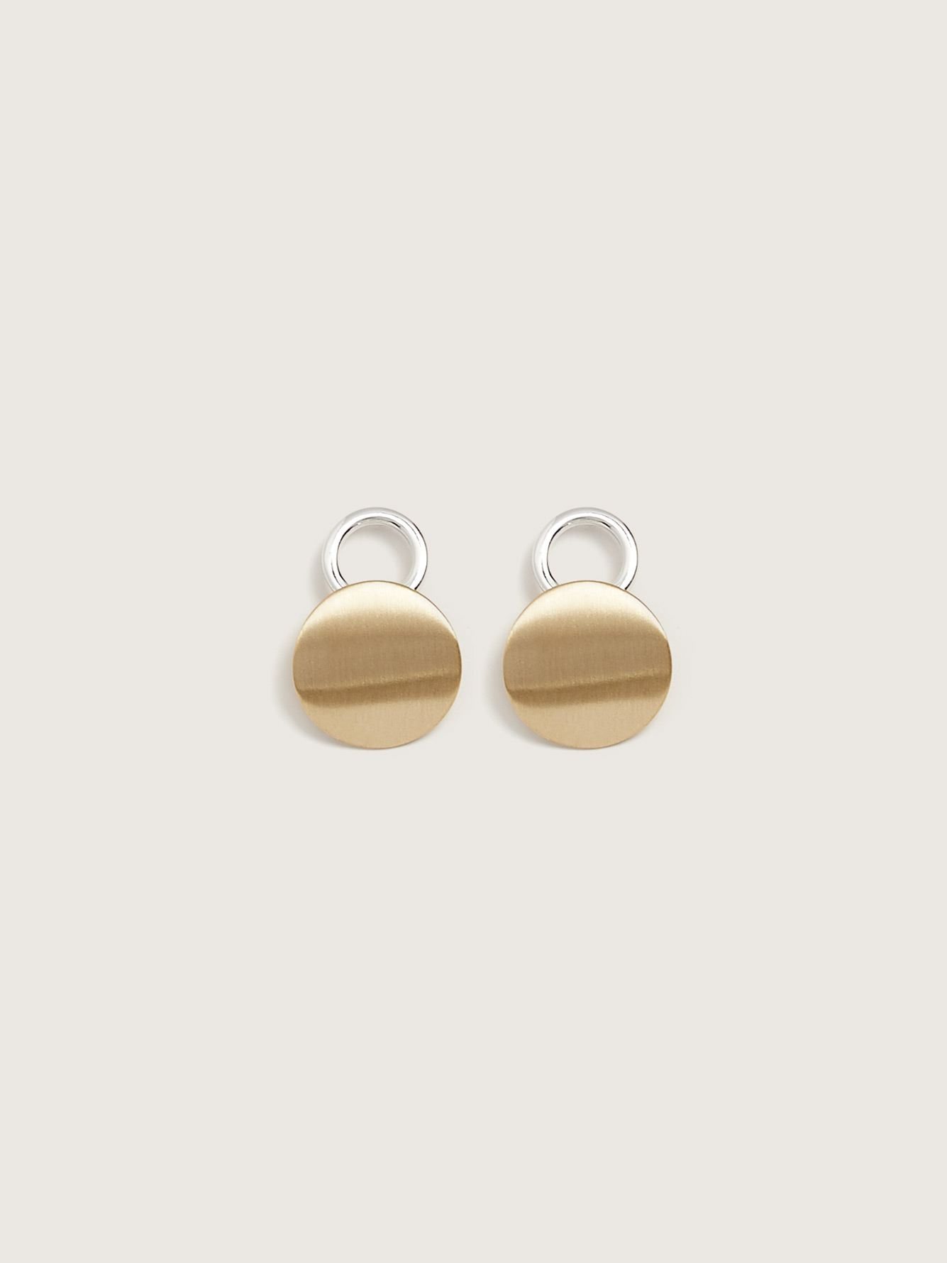 Gold and Silver Statement Earrings - Addition Elle