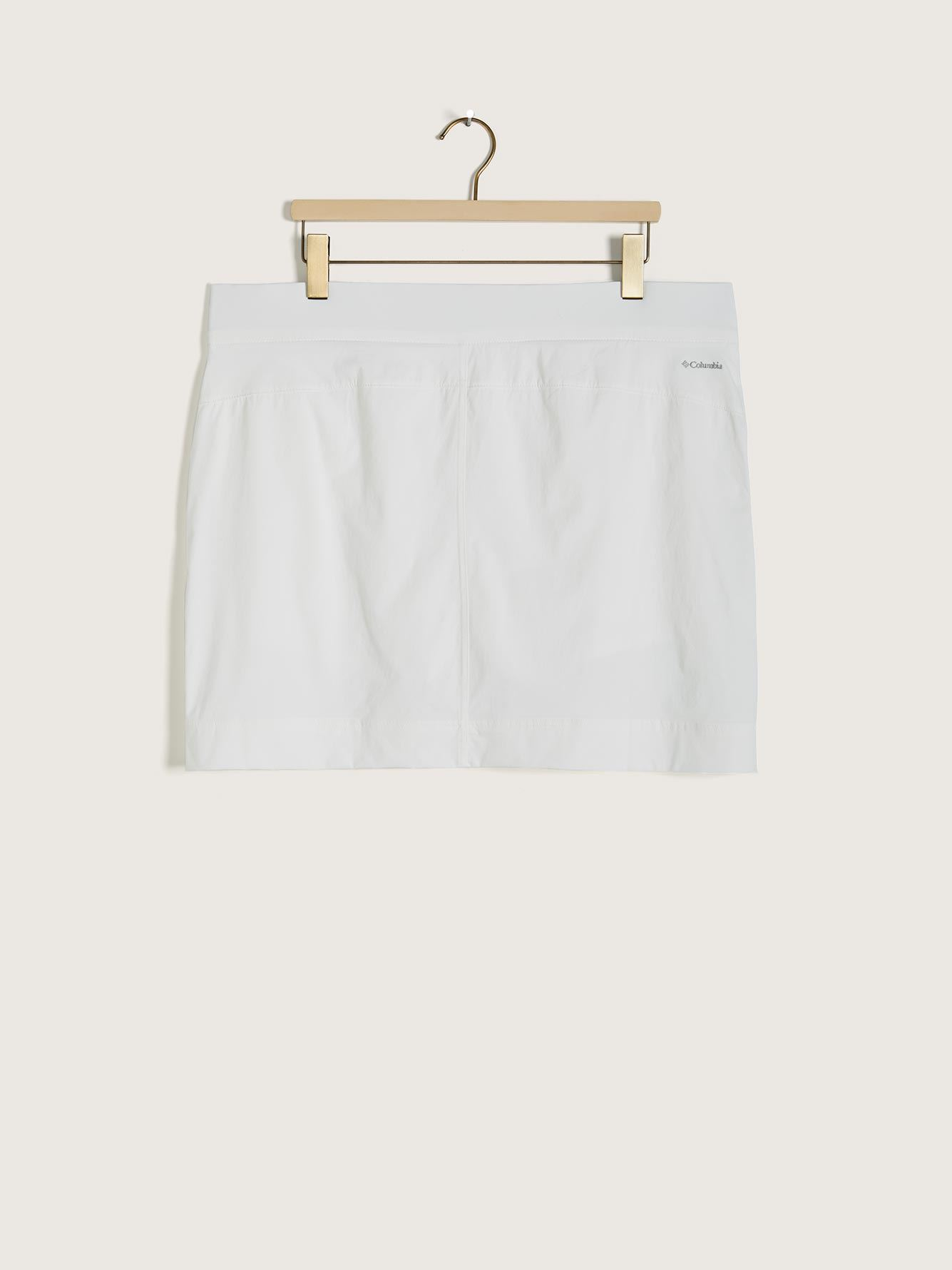 Anytime Casual Mid-Rise Straight Skort - Columbia