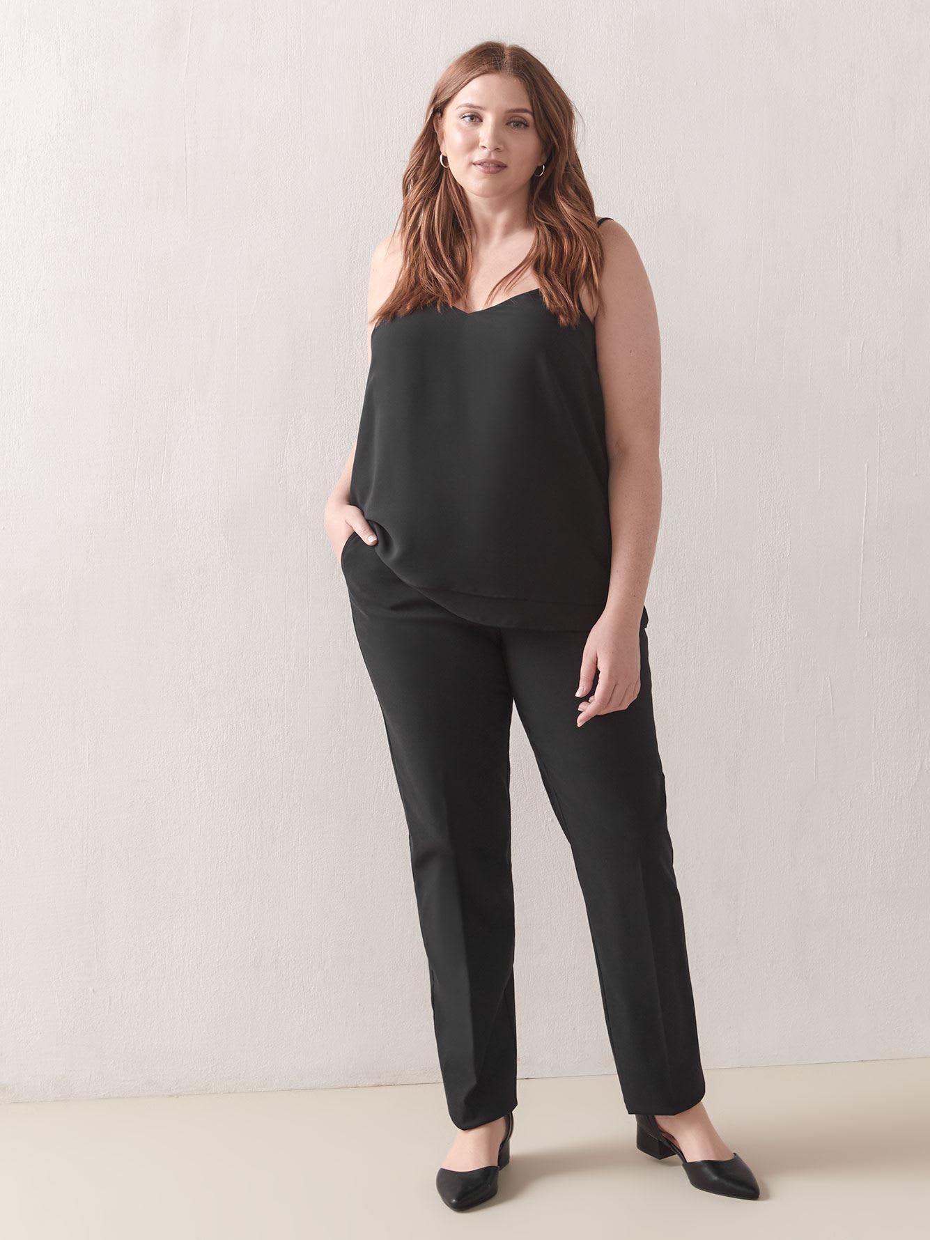 Savvy, Tall Straight-Leg Pant Savvy- In Every Story
