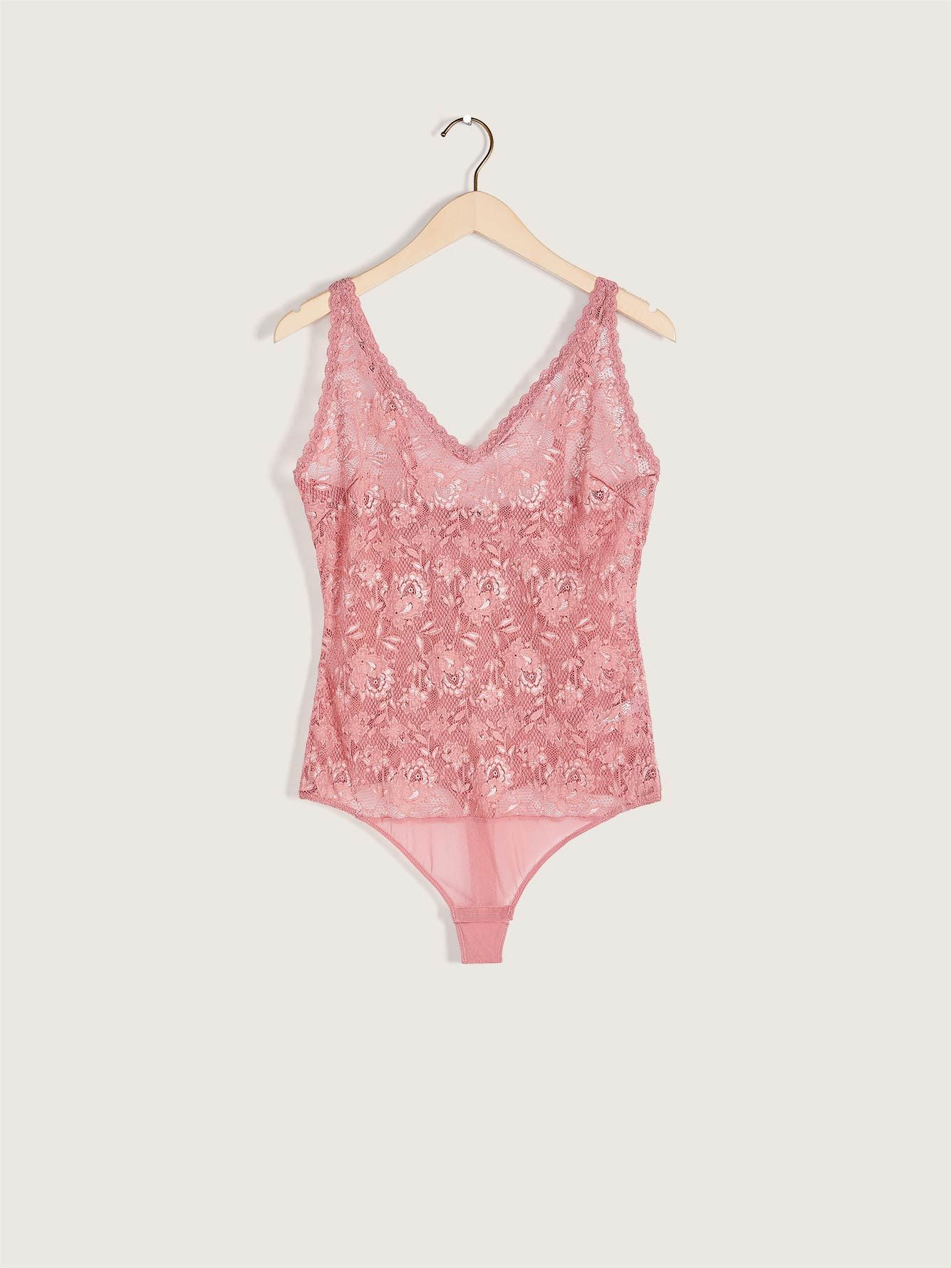 Teddy Never Say Never Lace Bodysuit - Cosabella