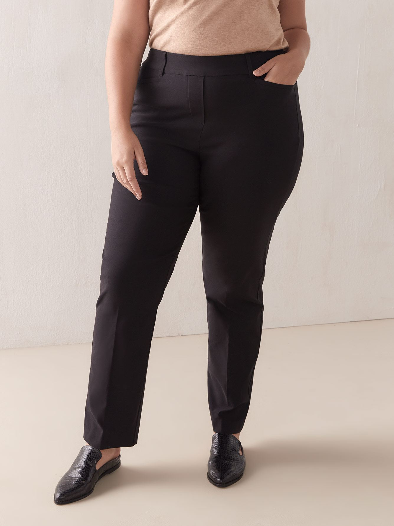 Savvy, Straight Leg Pant - Addition Elle