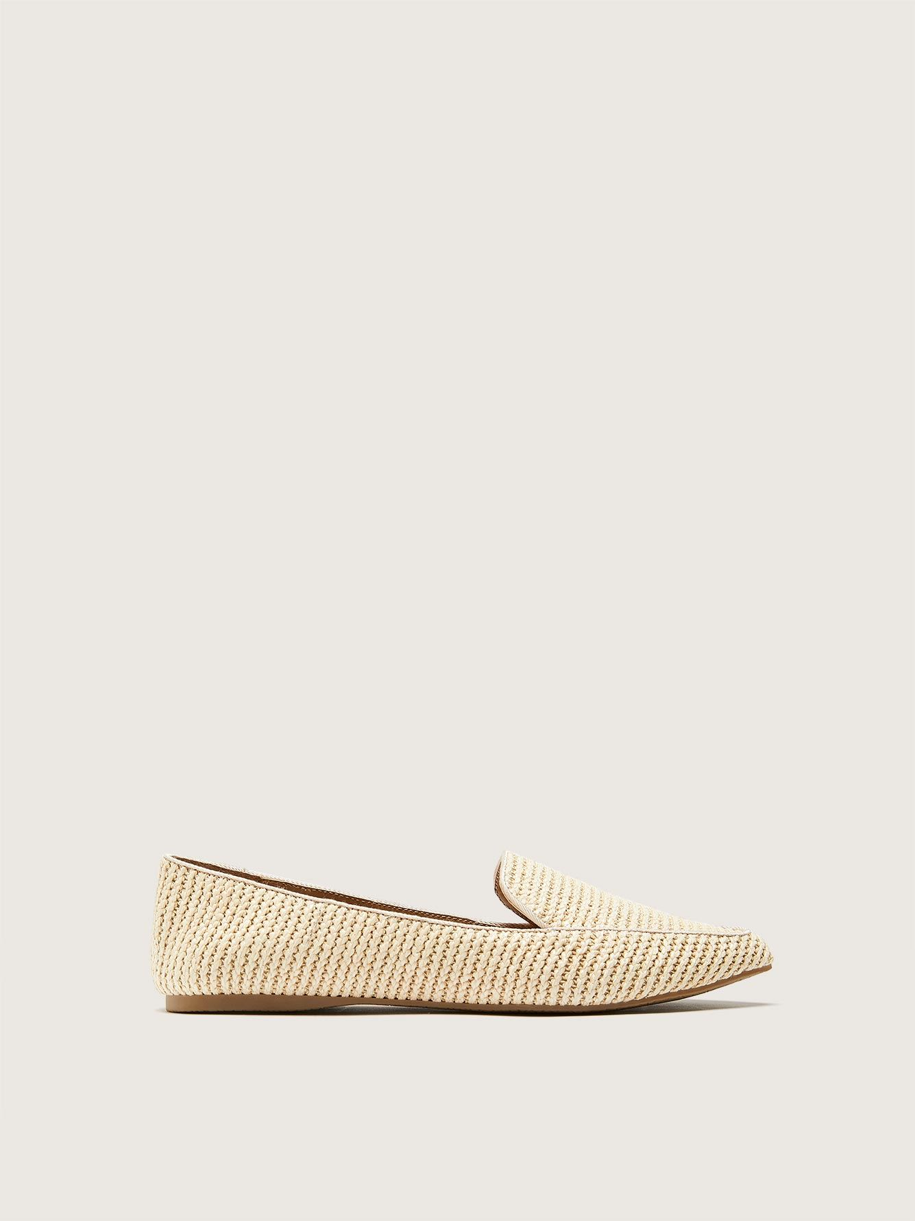 Wide Width Pointed Toe Textile Loafer - Steve Madden