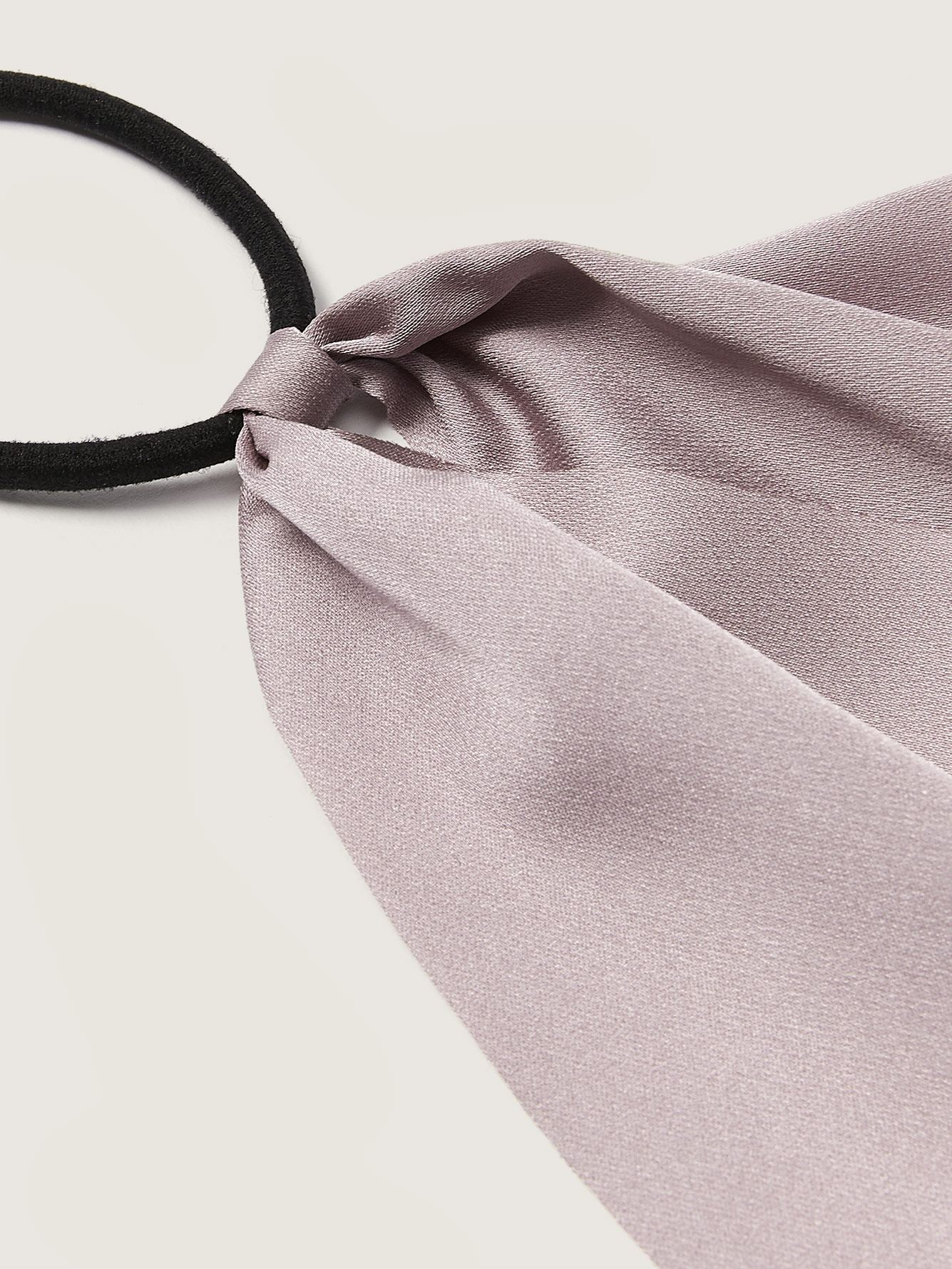 Hair Elastic with Satin Scarf