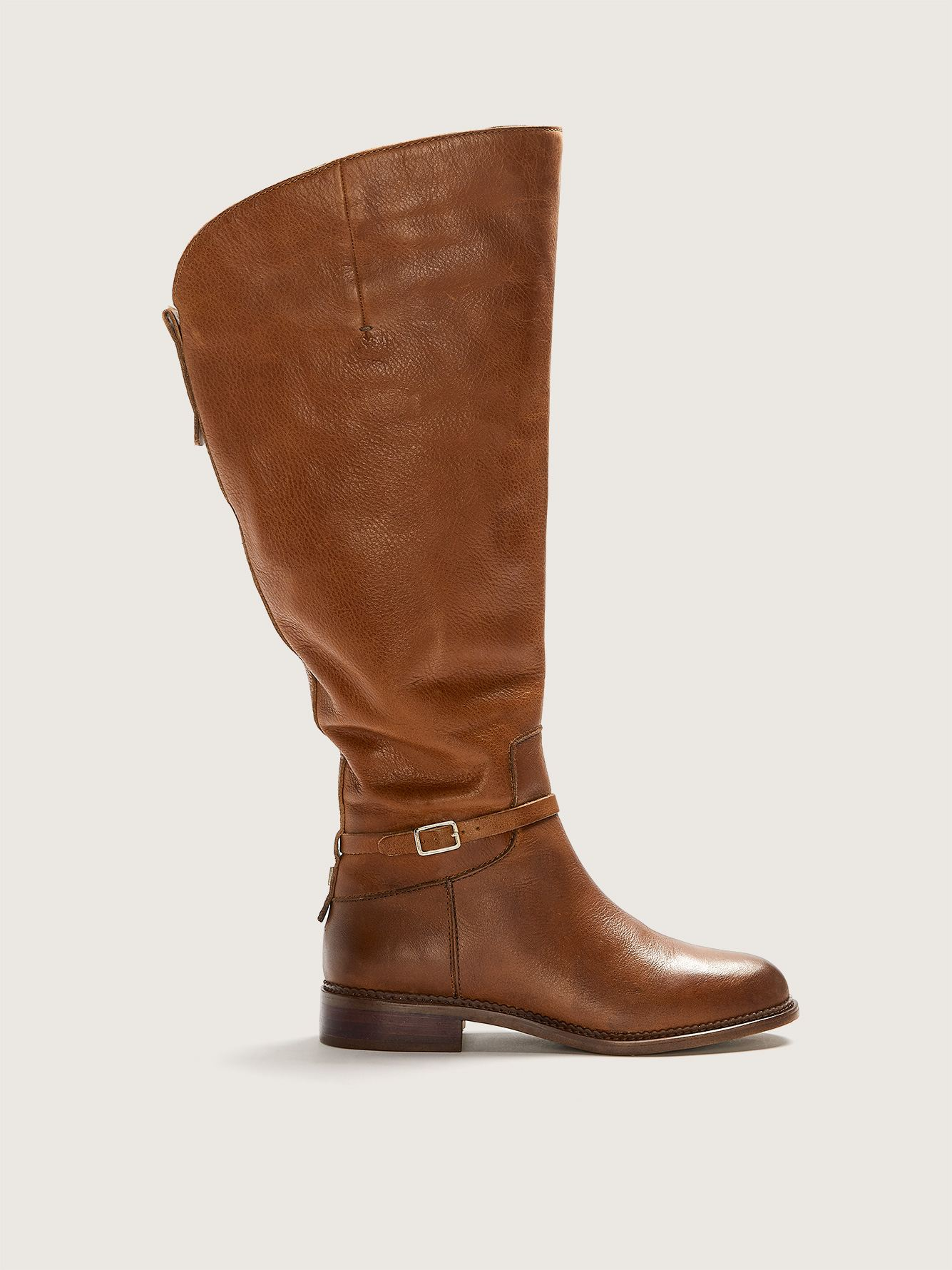 Haylie Leather Riding Boot - Franco Sarto