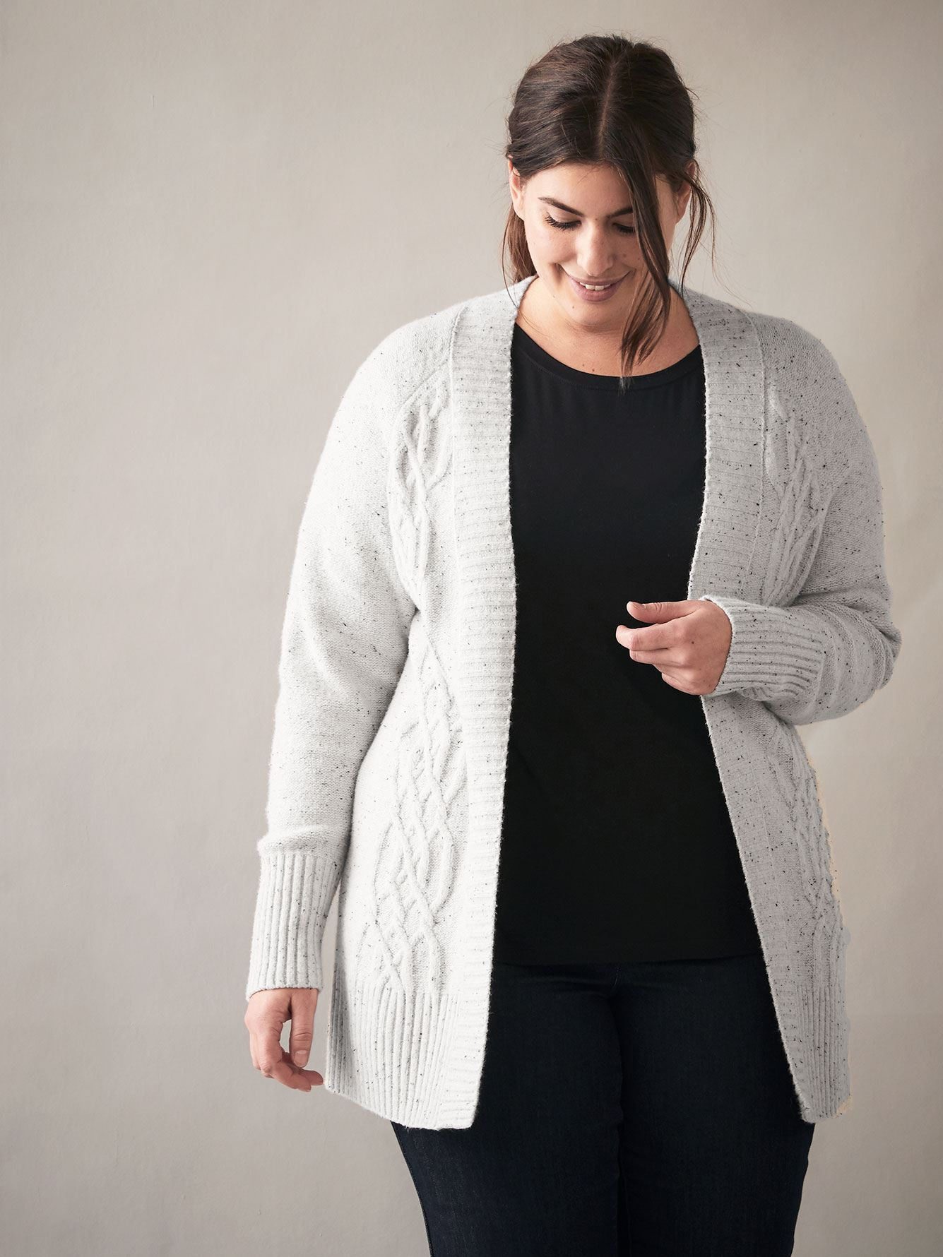 Cardigan à maille torsadée - In Every Story