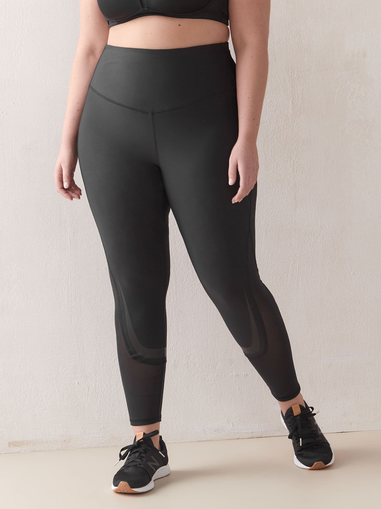 High-Rise Mesh Legging - ActiveZone