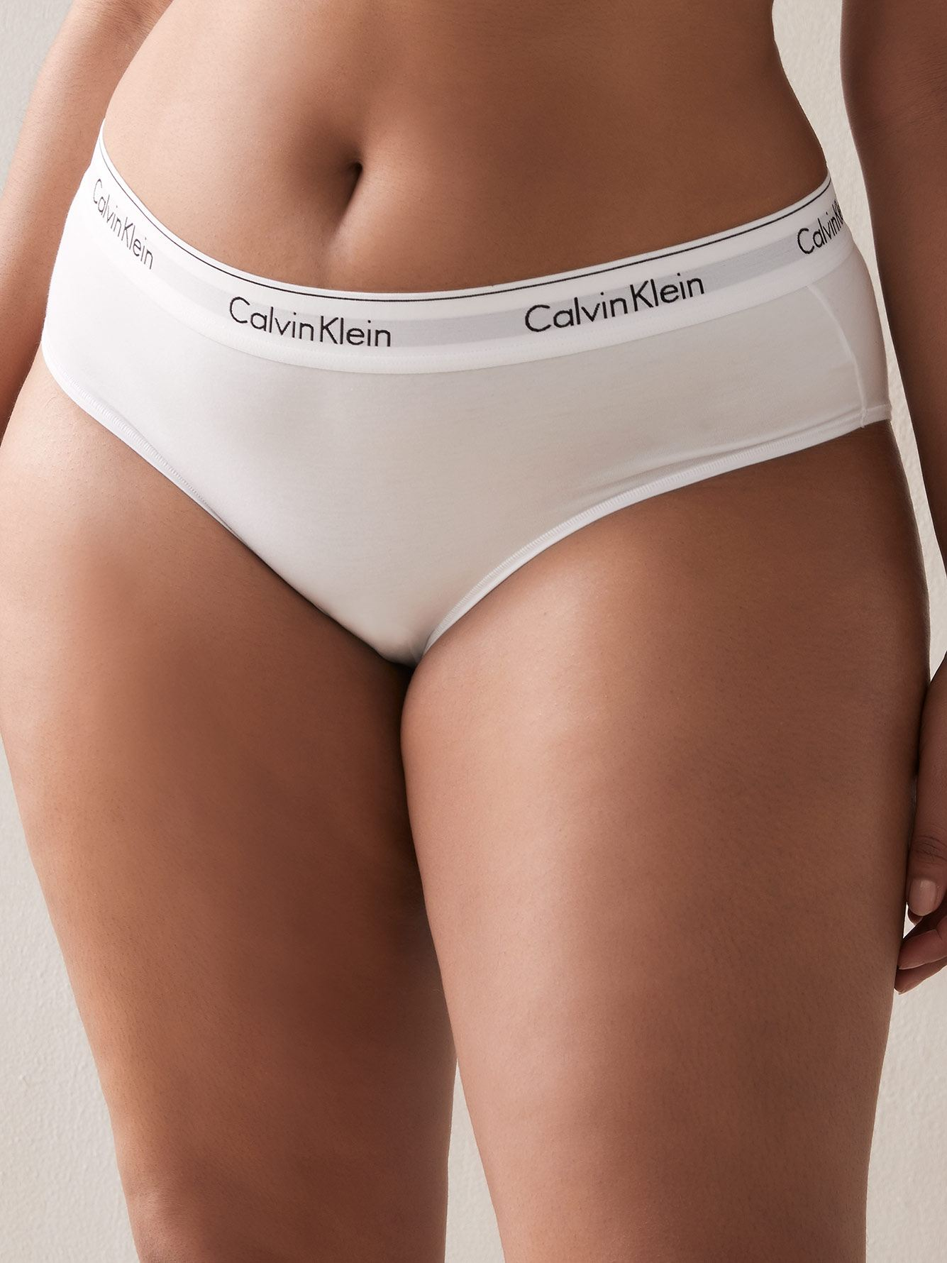 Solid Hipster Cotton Panty - Calvin Klein