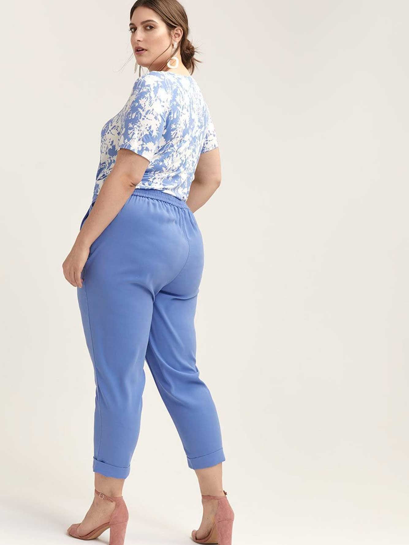 Pull-On Slim Leg Ankle Pant - In Every Story