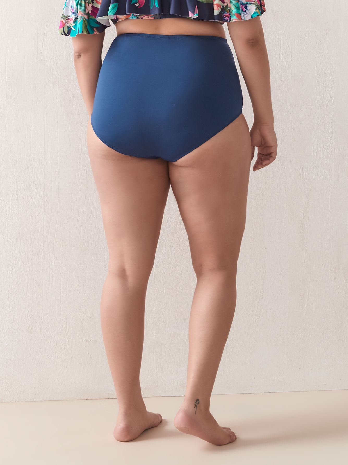 High Waist Rhodes Bikini Bottom - City Chic