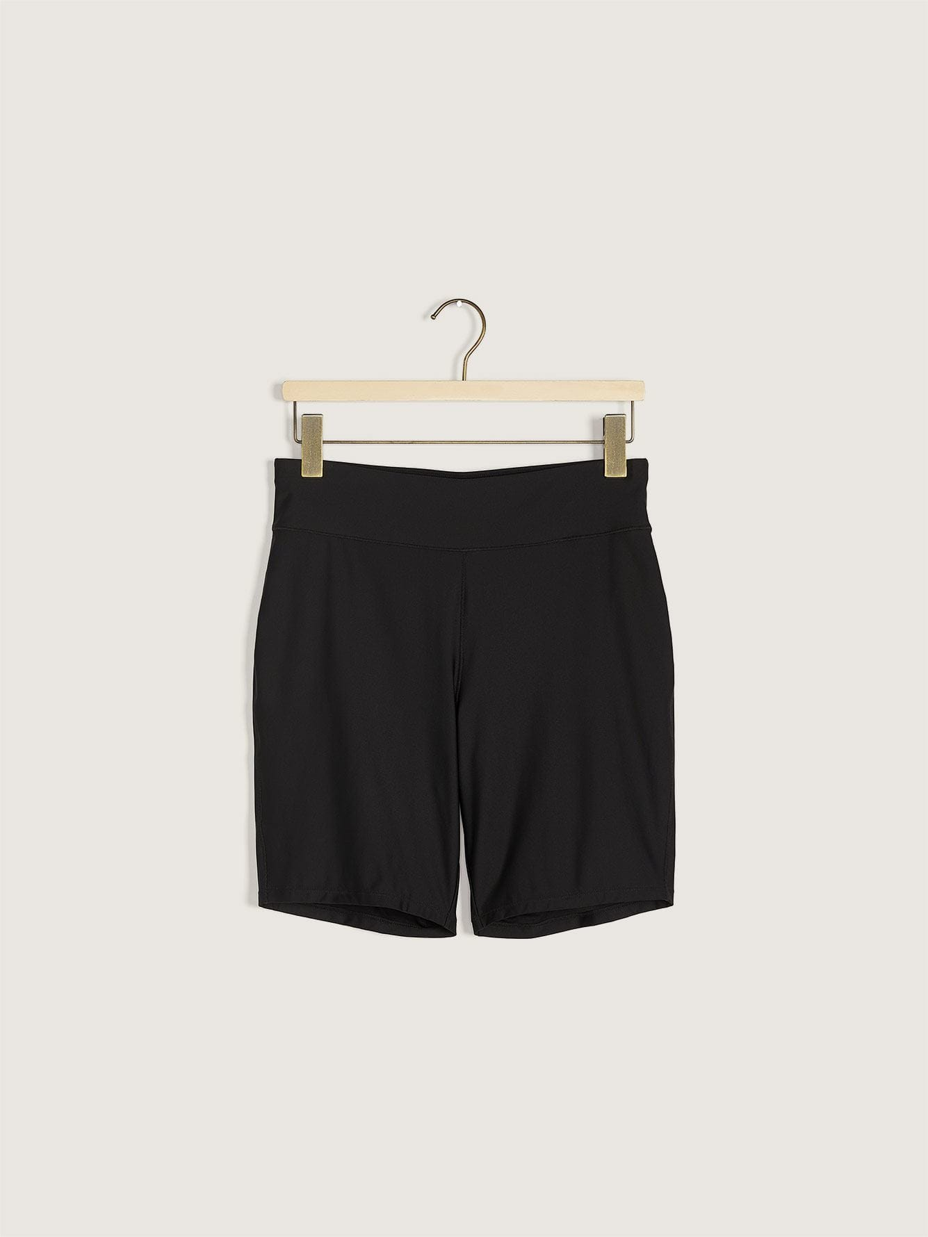 High Waist Swim Shorts with Waistband - Addition Elle