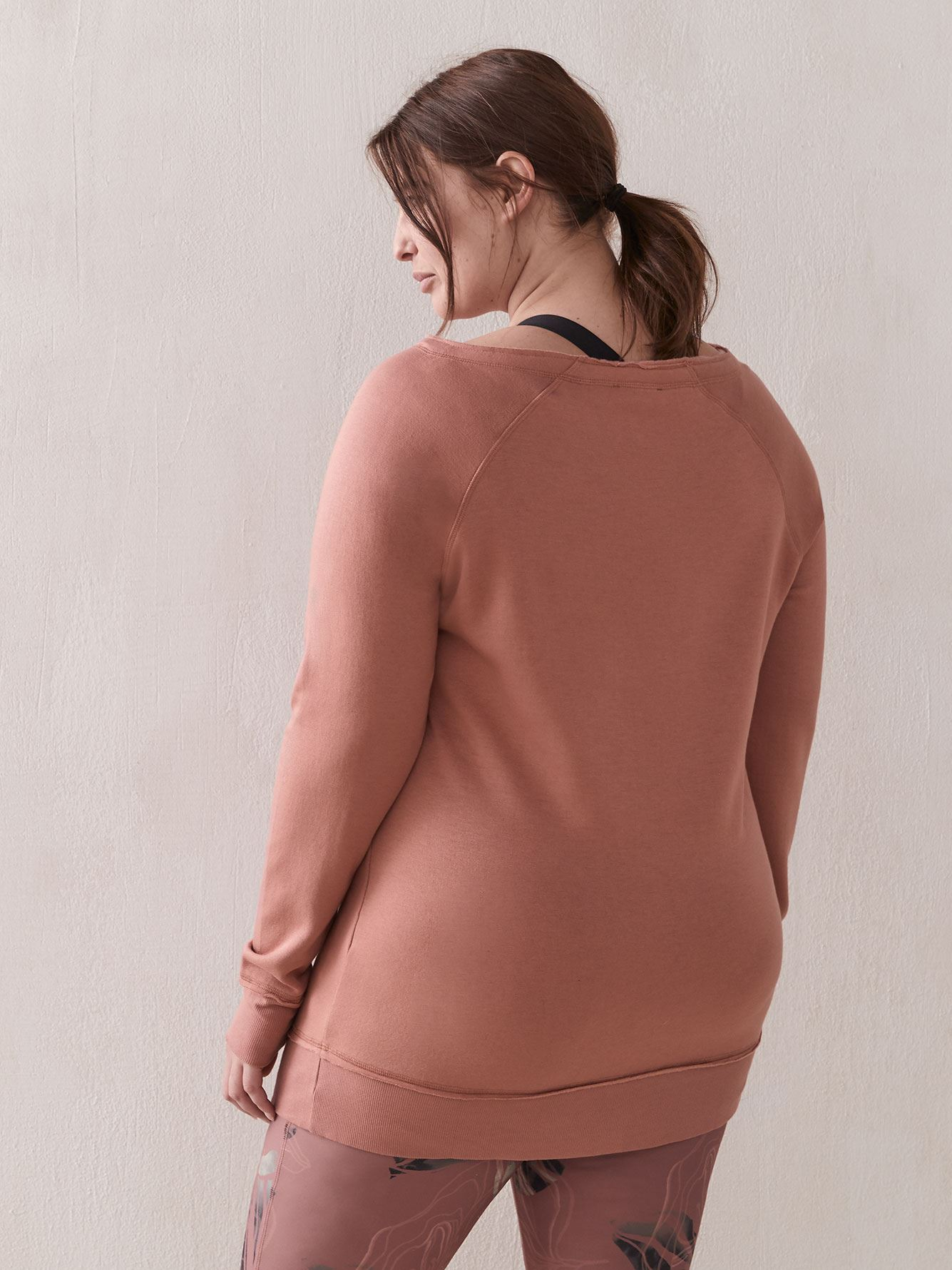 Wide-Neck Sweatshirt - ActiveZone
