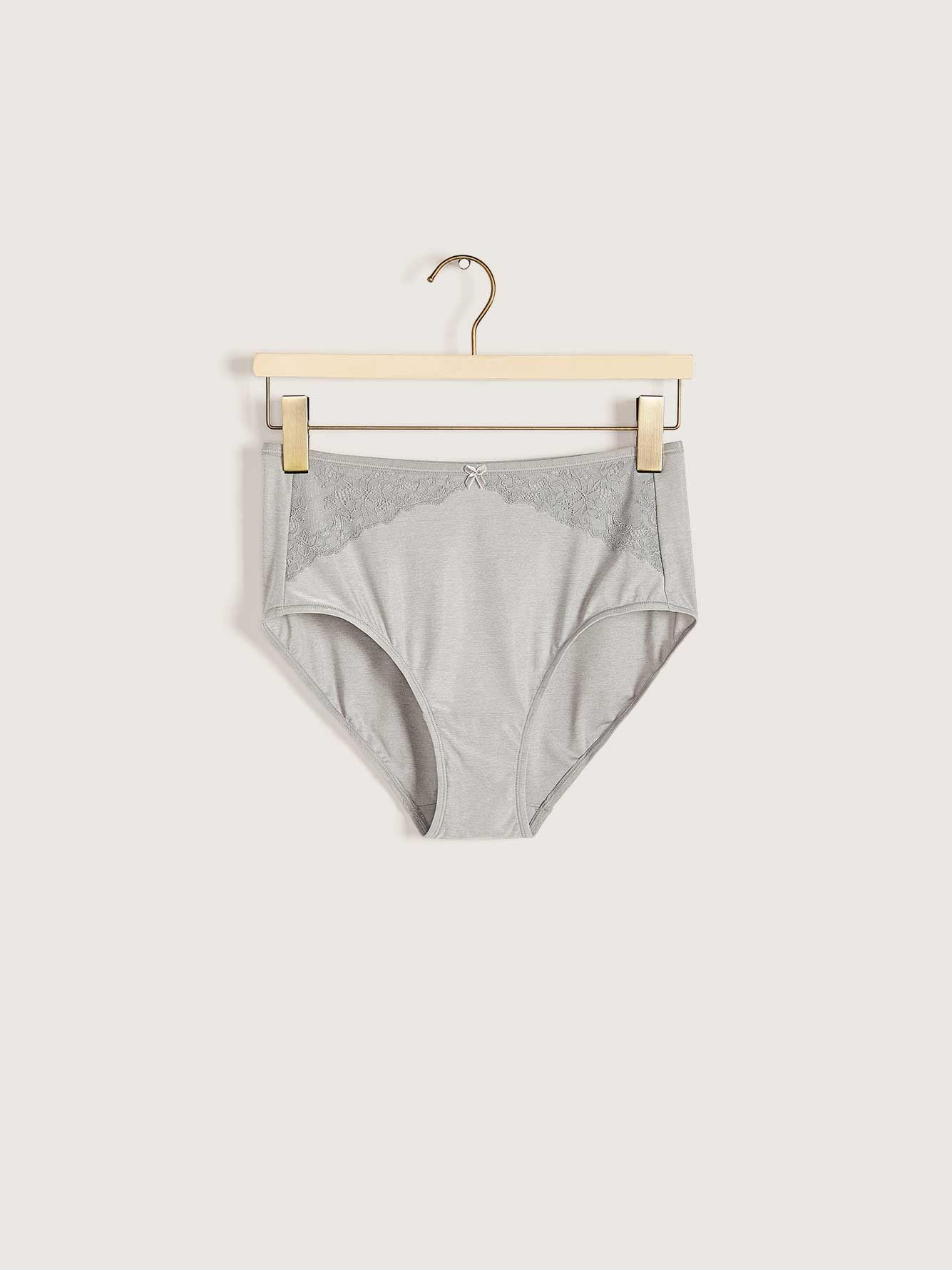 Marled Brief Panty