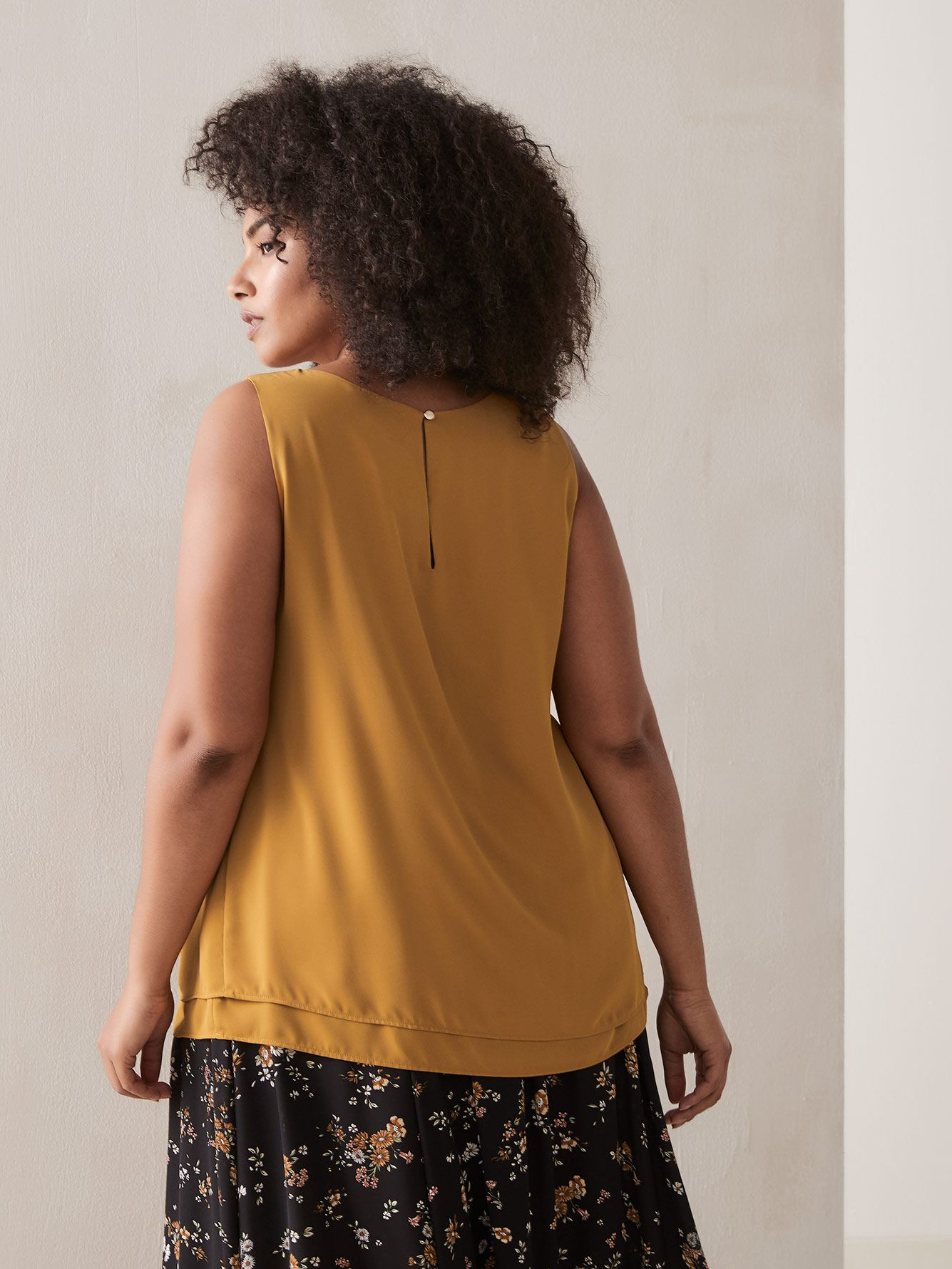 Double Layer Swing Cami