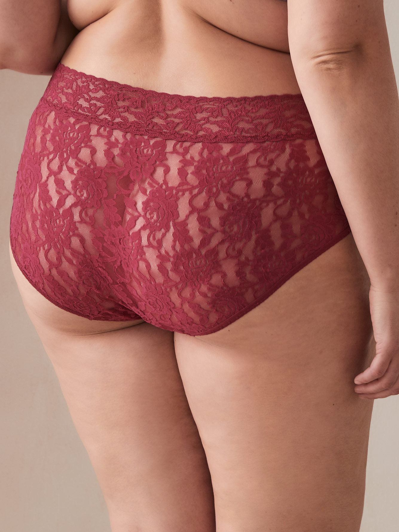 Hanky Panky - Lace High Cut French Brief Panty