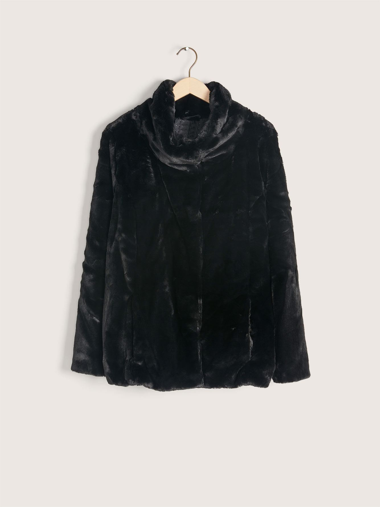 Short Faux Fur Jacket - Addition Elle