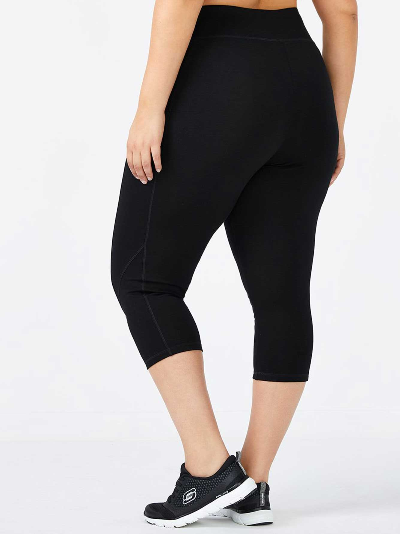 Plus-Size Capri Legging
