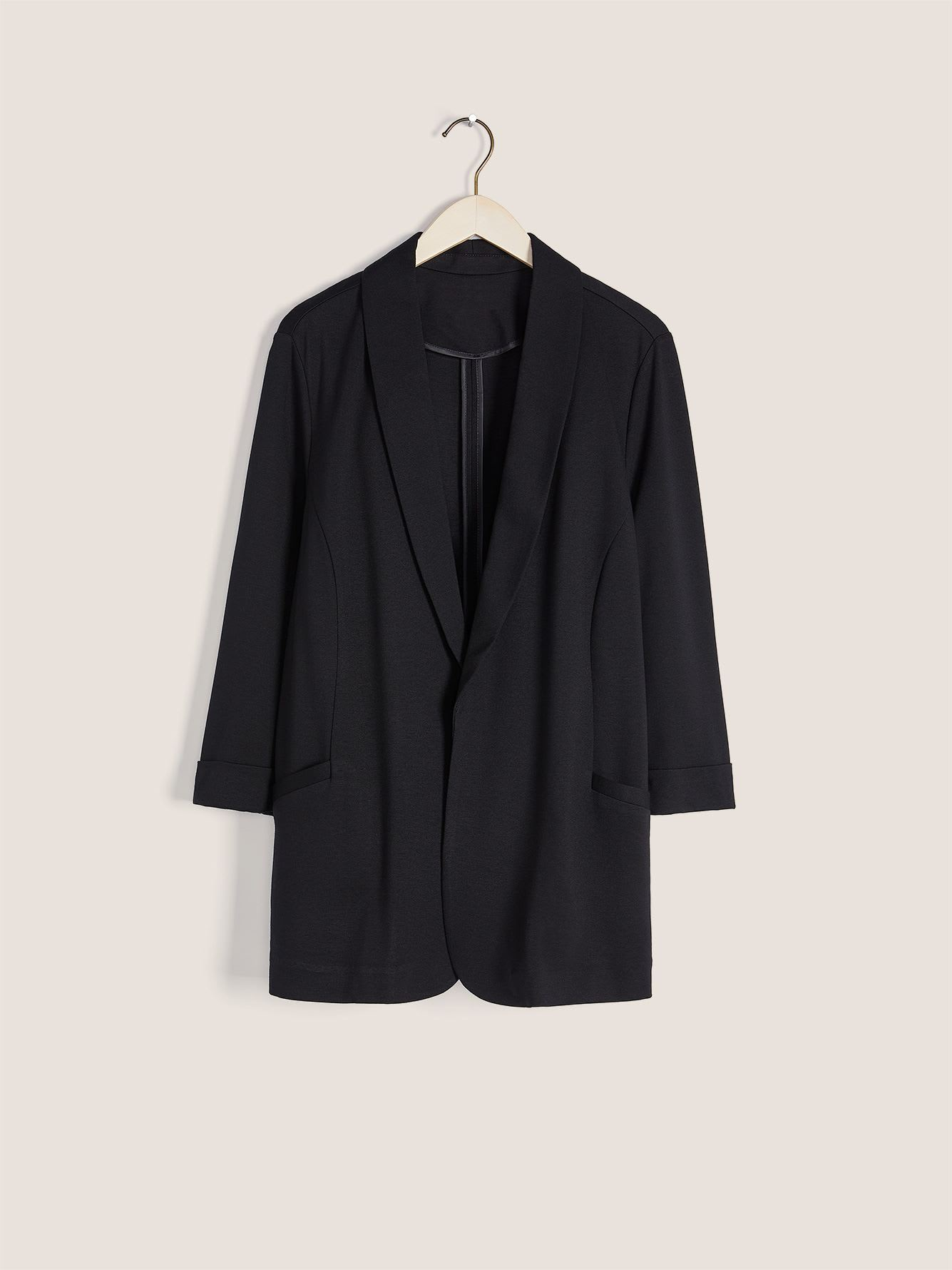 Semi-Fitted Ponte de Roma Blazer - In Every Story