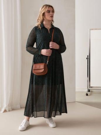Robe chemise longue - Addition Elle