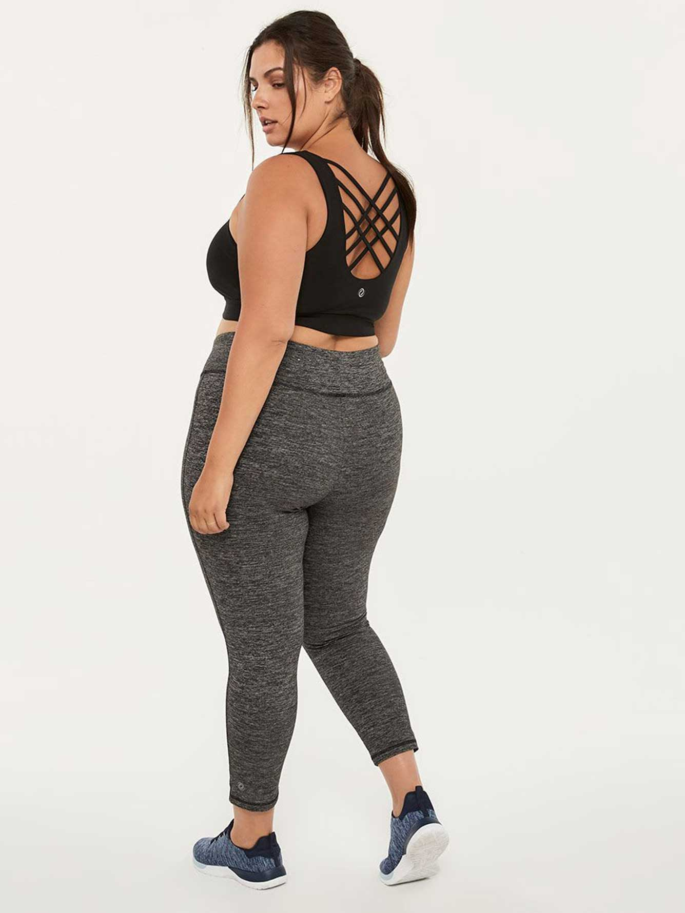 Basic Plus-Size 7/8 Legging - ActiveZone
