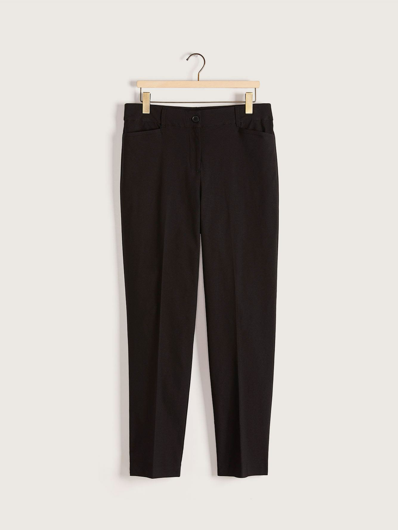 Black Straight Leg Pant - In Every Story