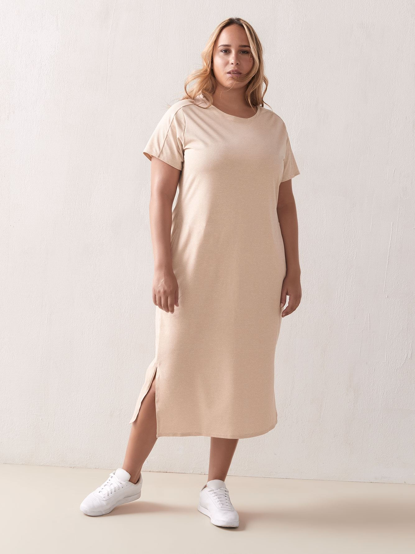 Firwood Camp T-Shirt Dress - Columbia