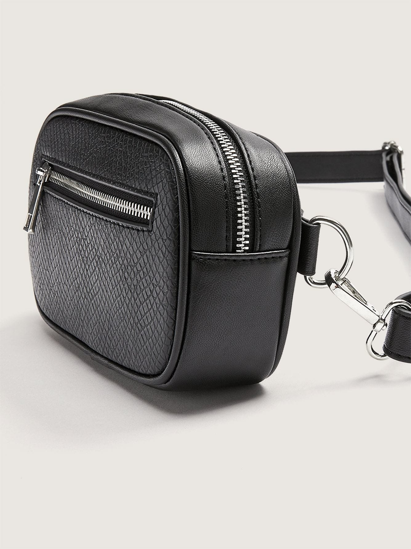 Belt Pouch with Front Zipper
