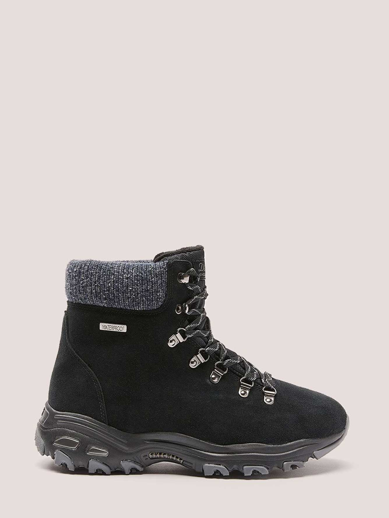 Wide Width Lace-Up Bootie with Webbing - Skechers