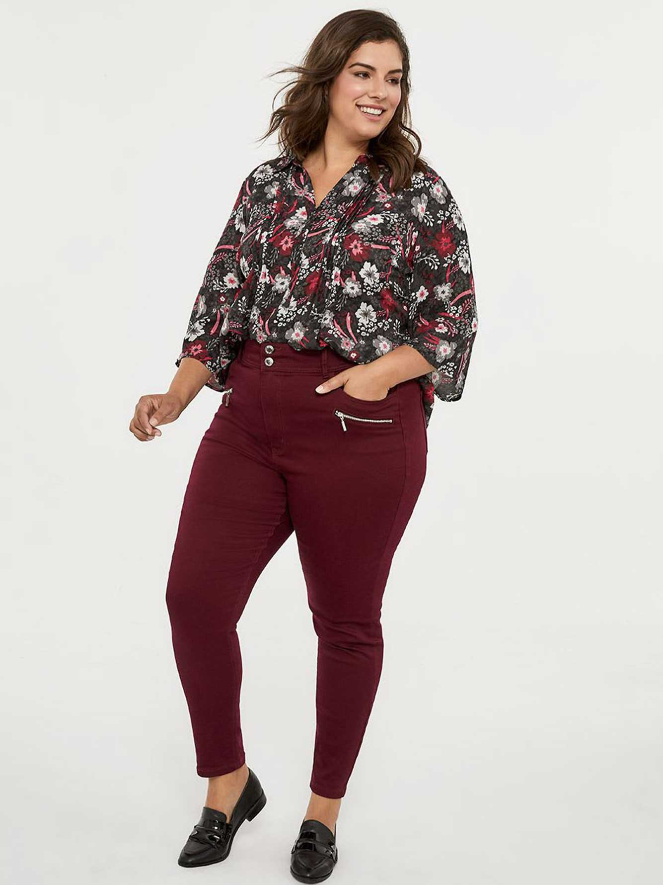 Petite Savvy Fit High Waisted Jean Legging - In Every Story