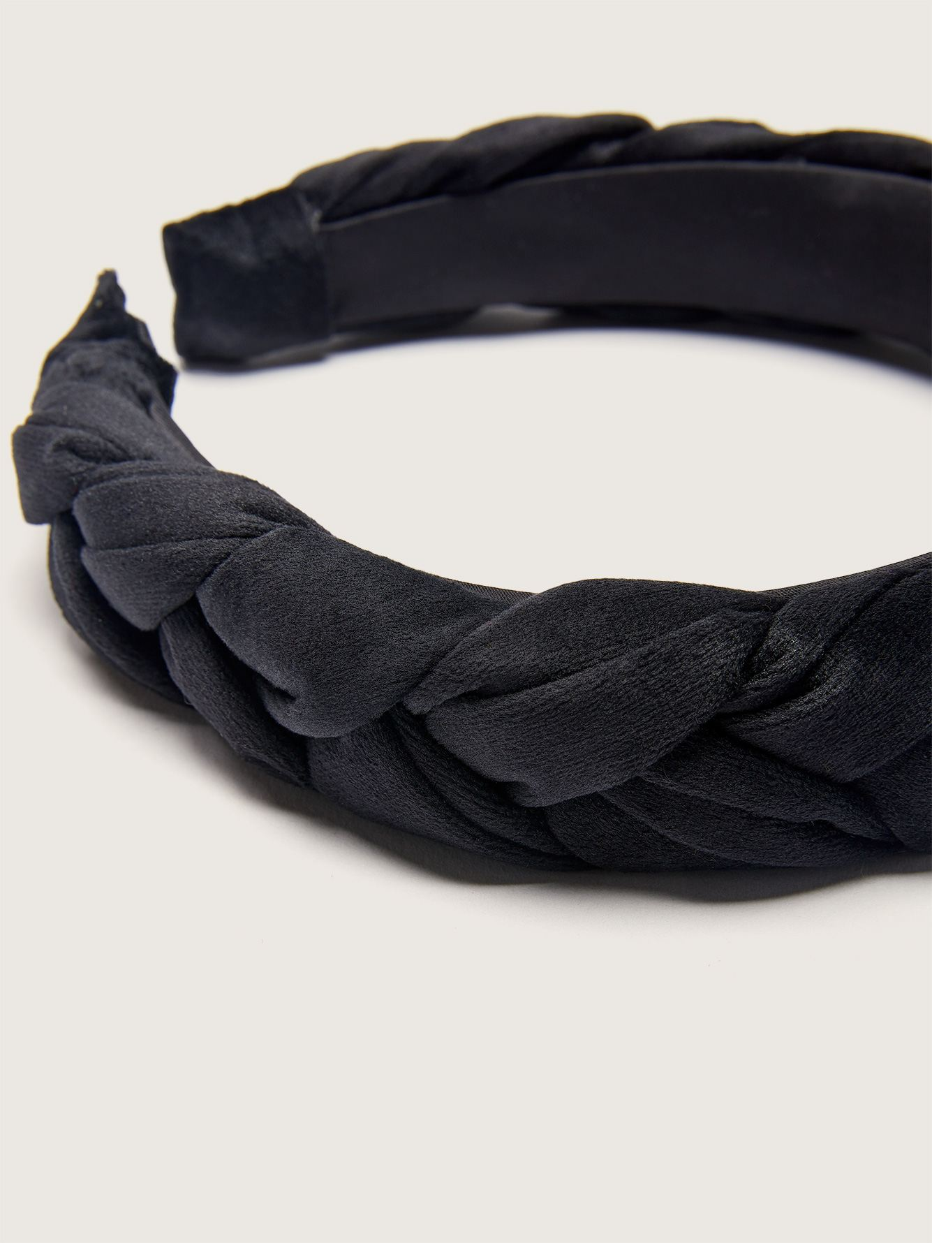 Velvet Braided Headband - Addition Elle