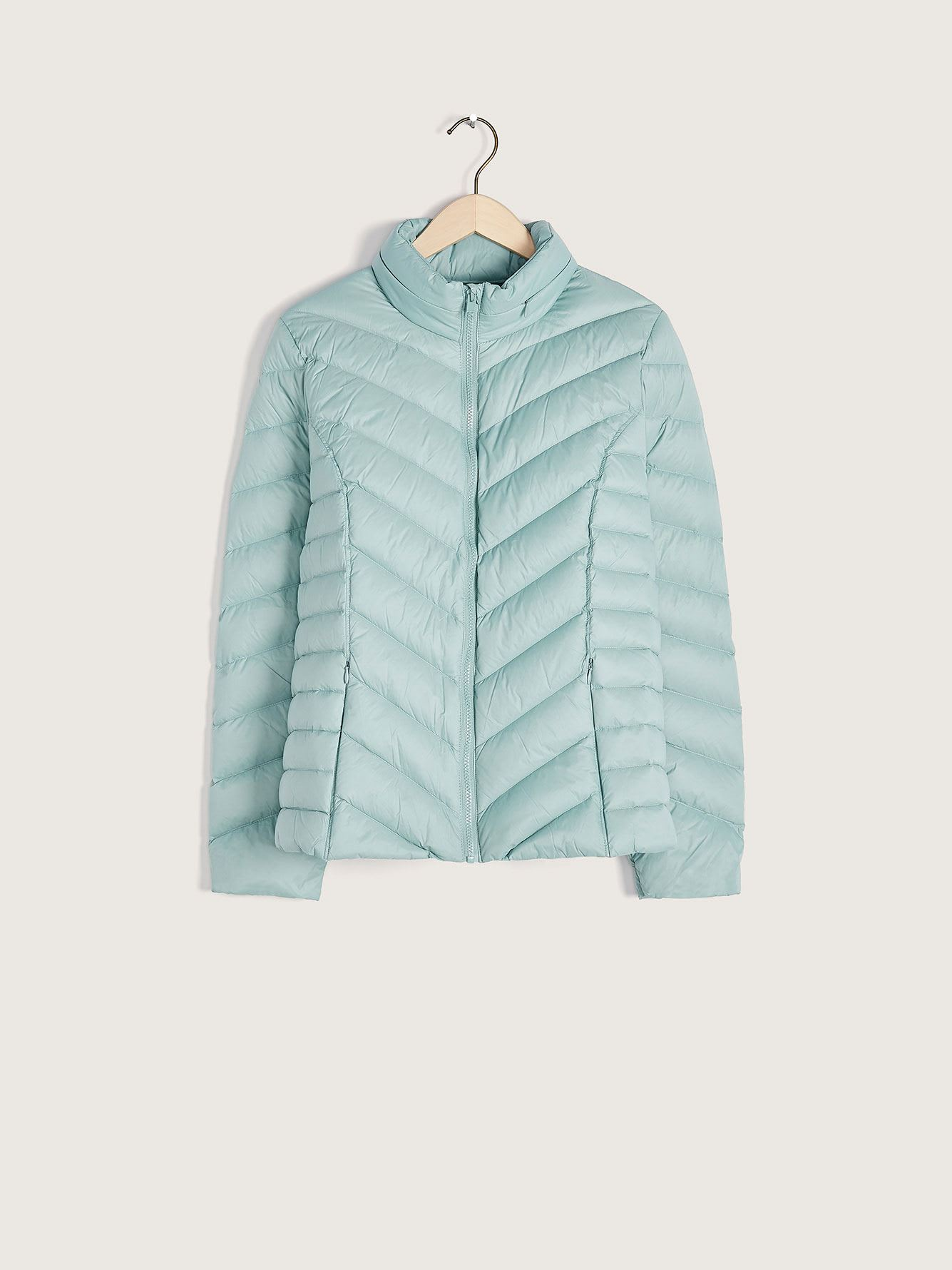 Short Packable Puffer Jacket - Addition Elle