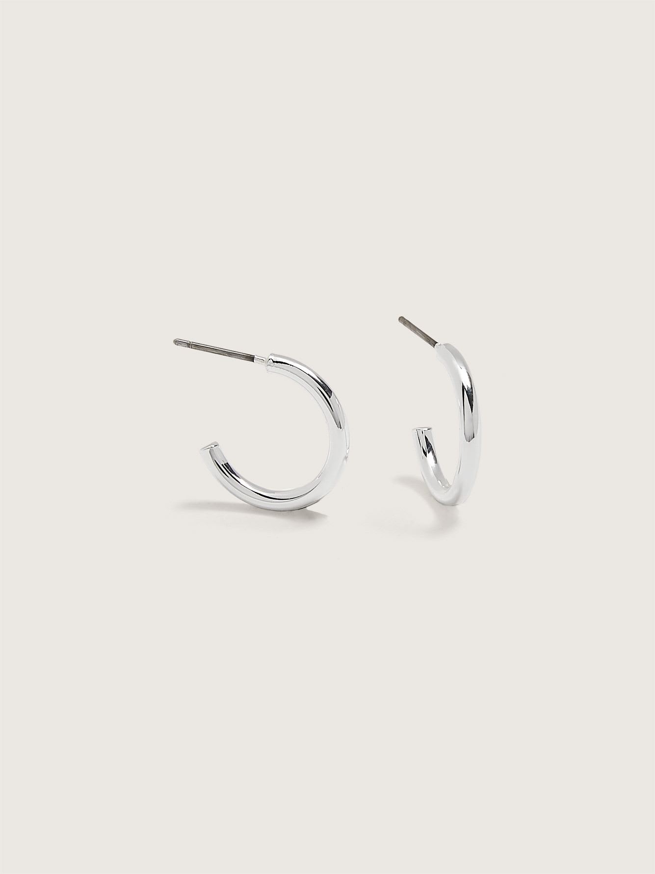 Small Classic Hoop Earrings - Addition Elle