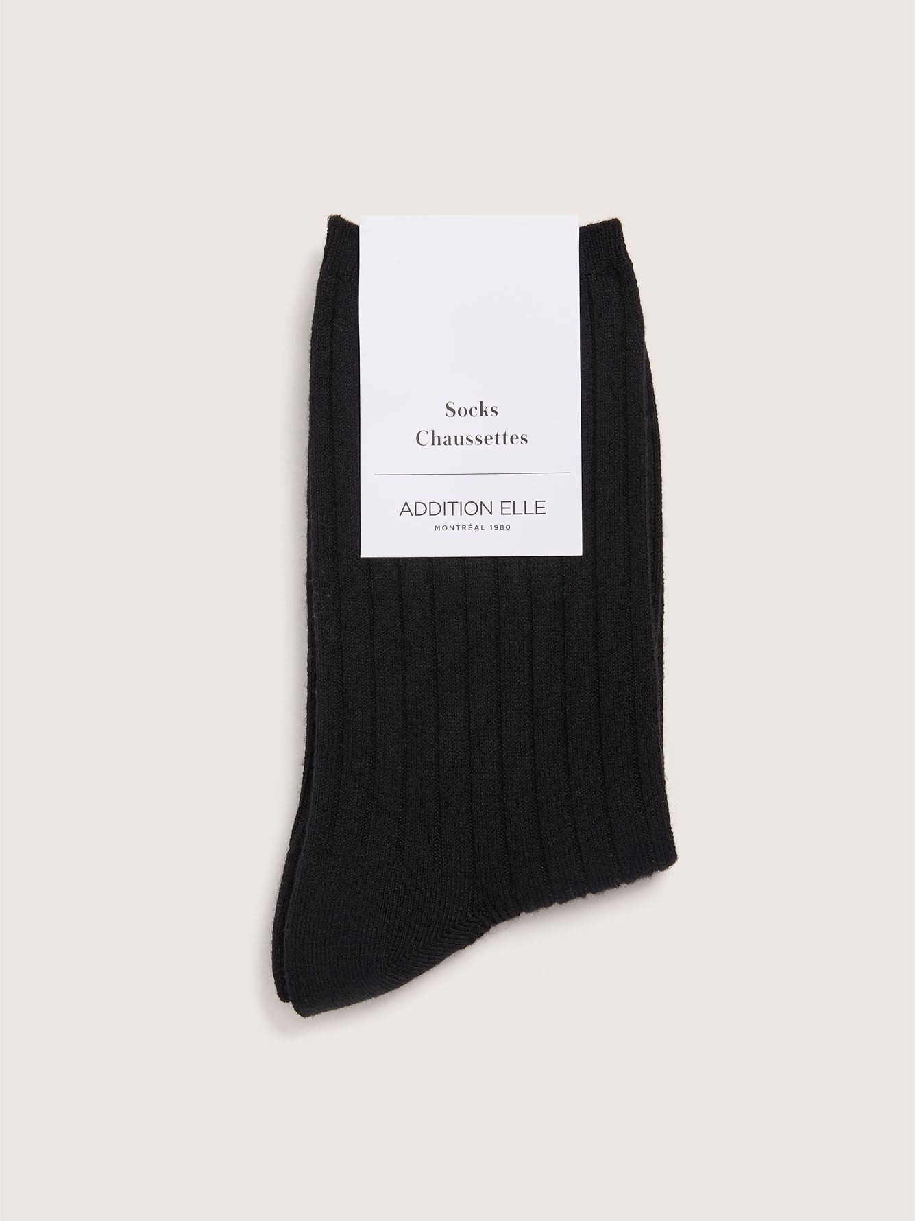 Wide Width Socks with a Touch of Cashmere - Addition Elle