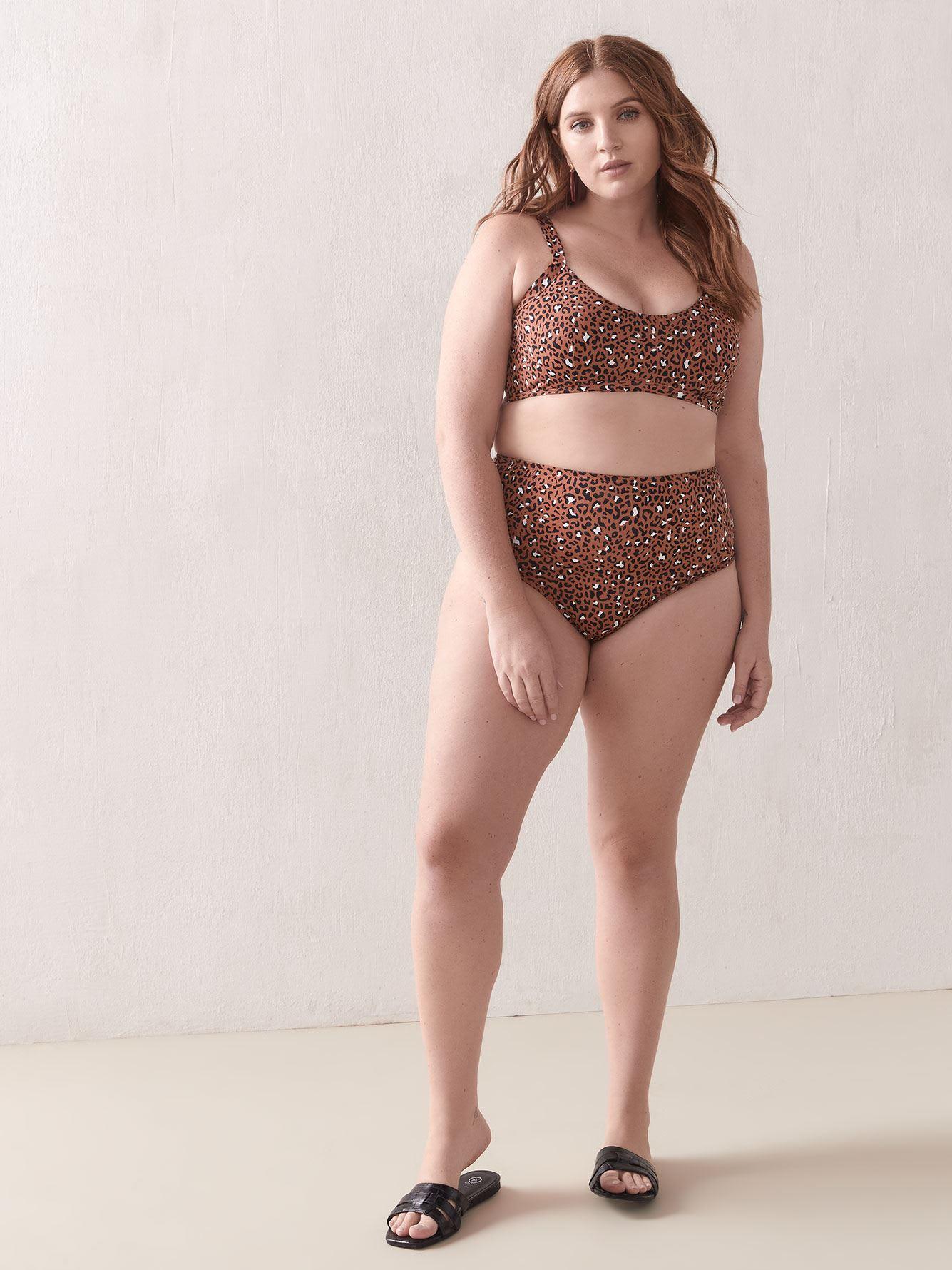 High Waist Retro Bikini Bottom - Everyday Sunday