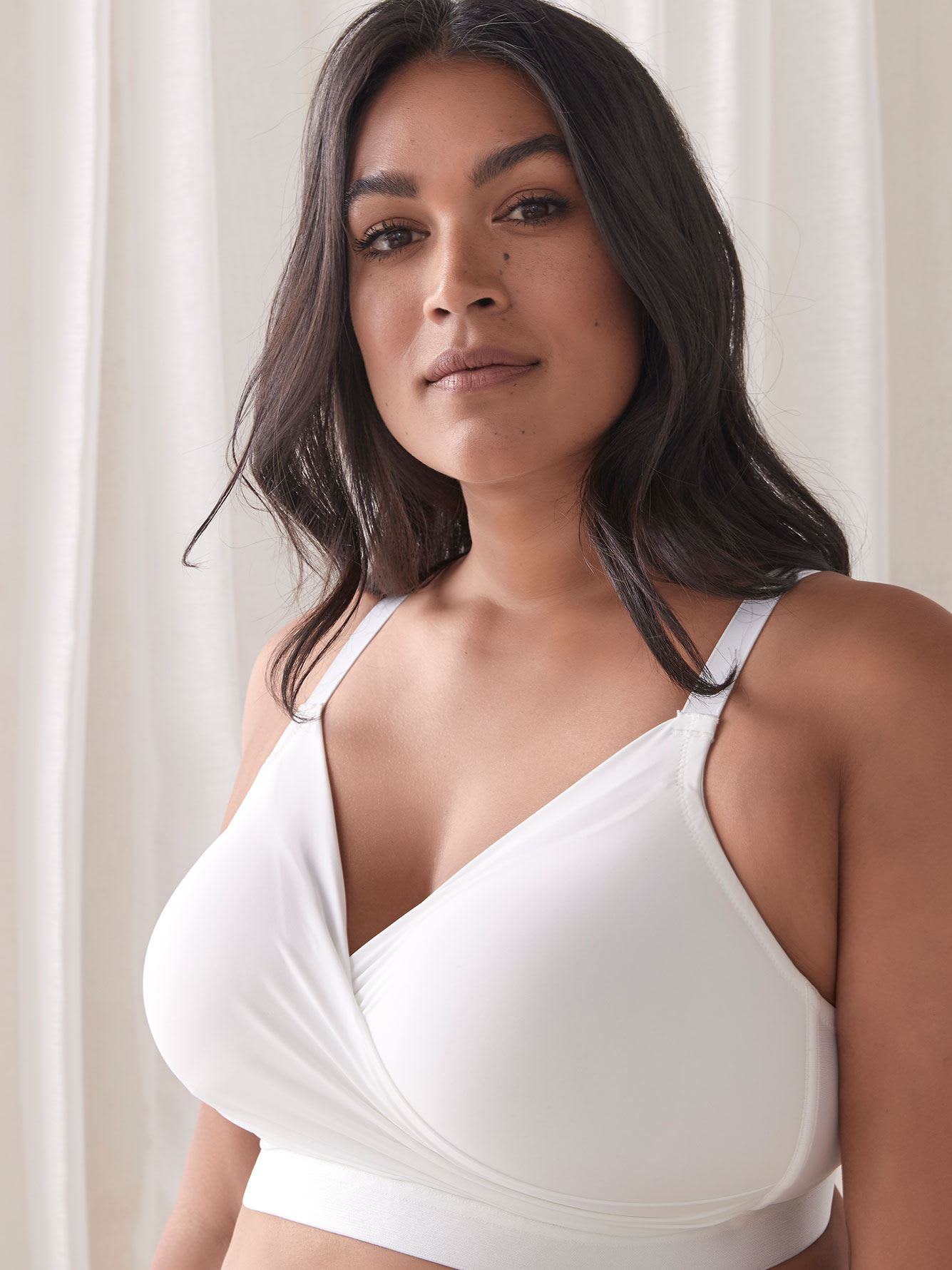Wirefree Padded Lounge Bra, G & H Cups