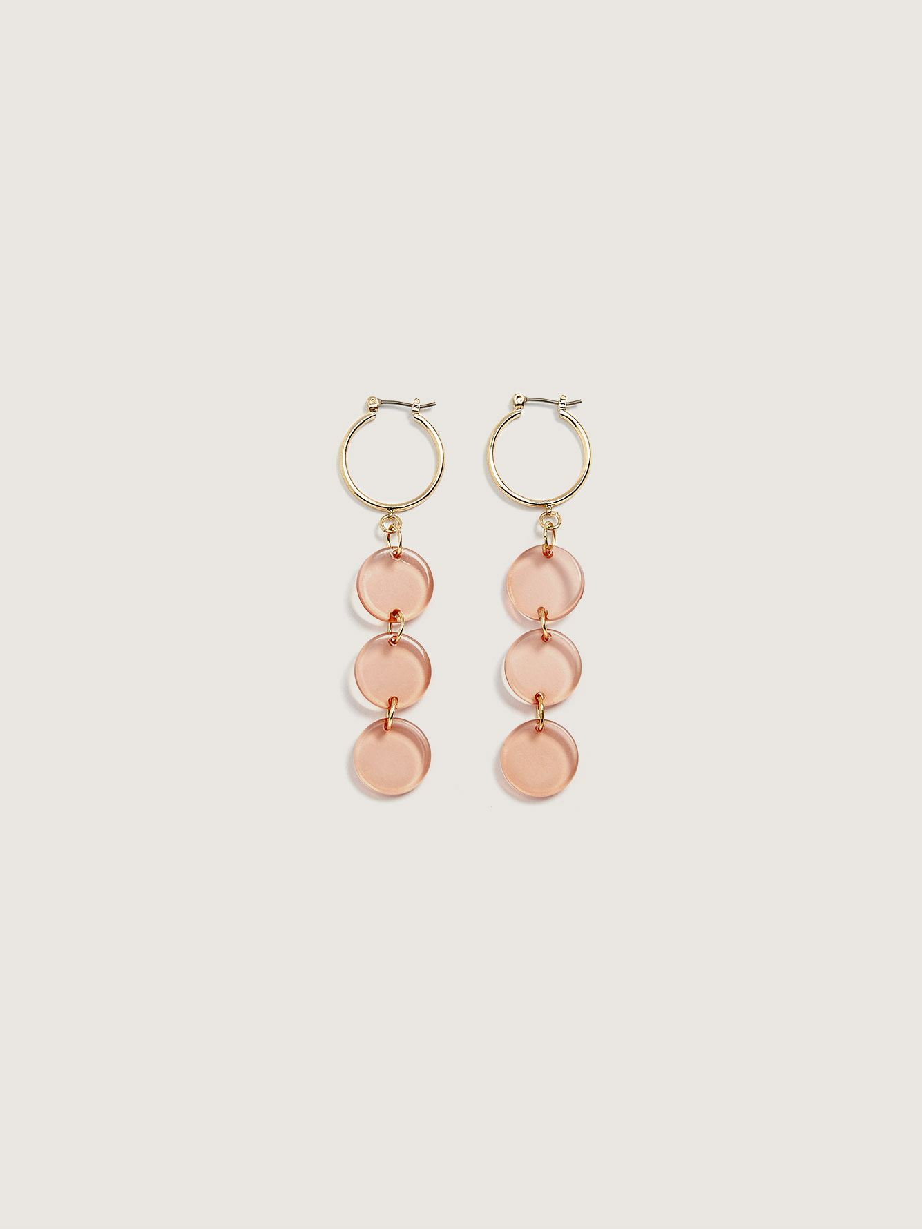 Circle Kira Hoop Earrings - Sundara Mar